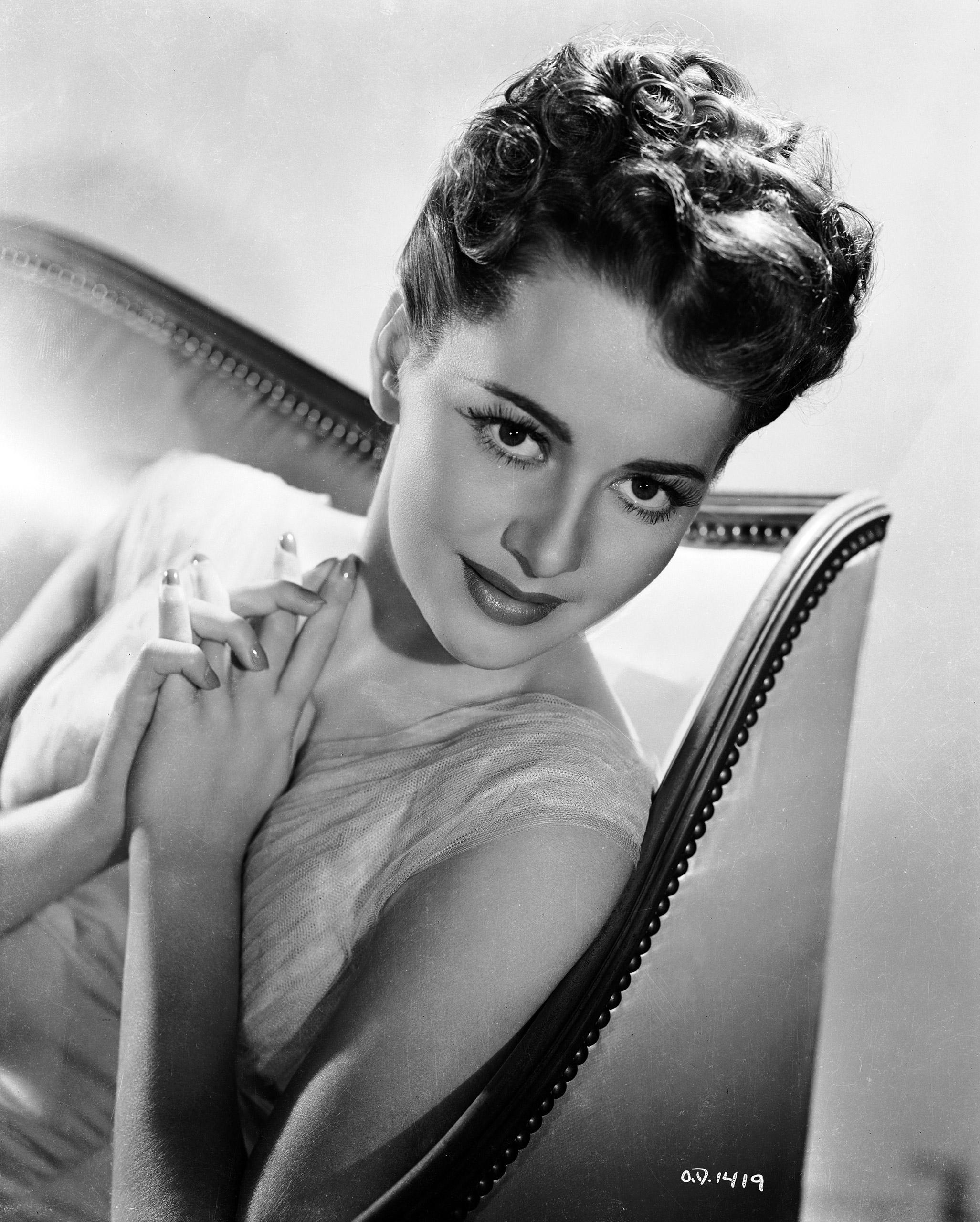 Portrait of Olivia de Havilland, circa 1940.