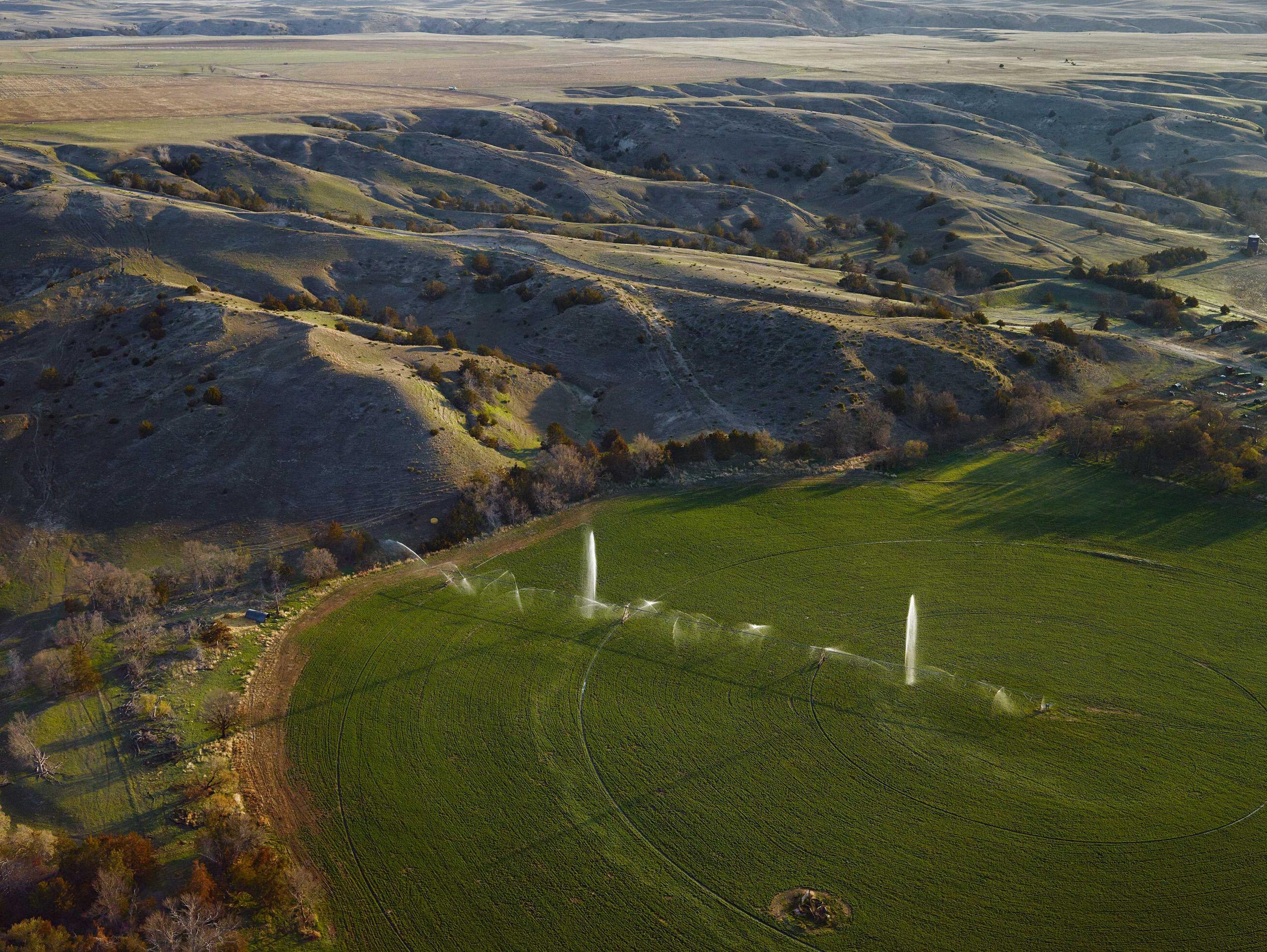 Broken Pivot. Cherry County, Nebraska, 2013.