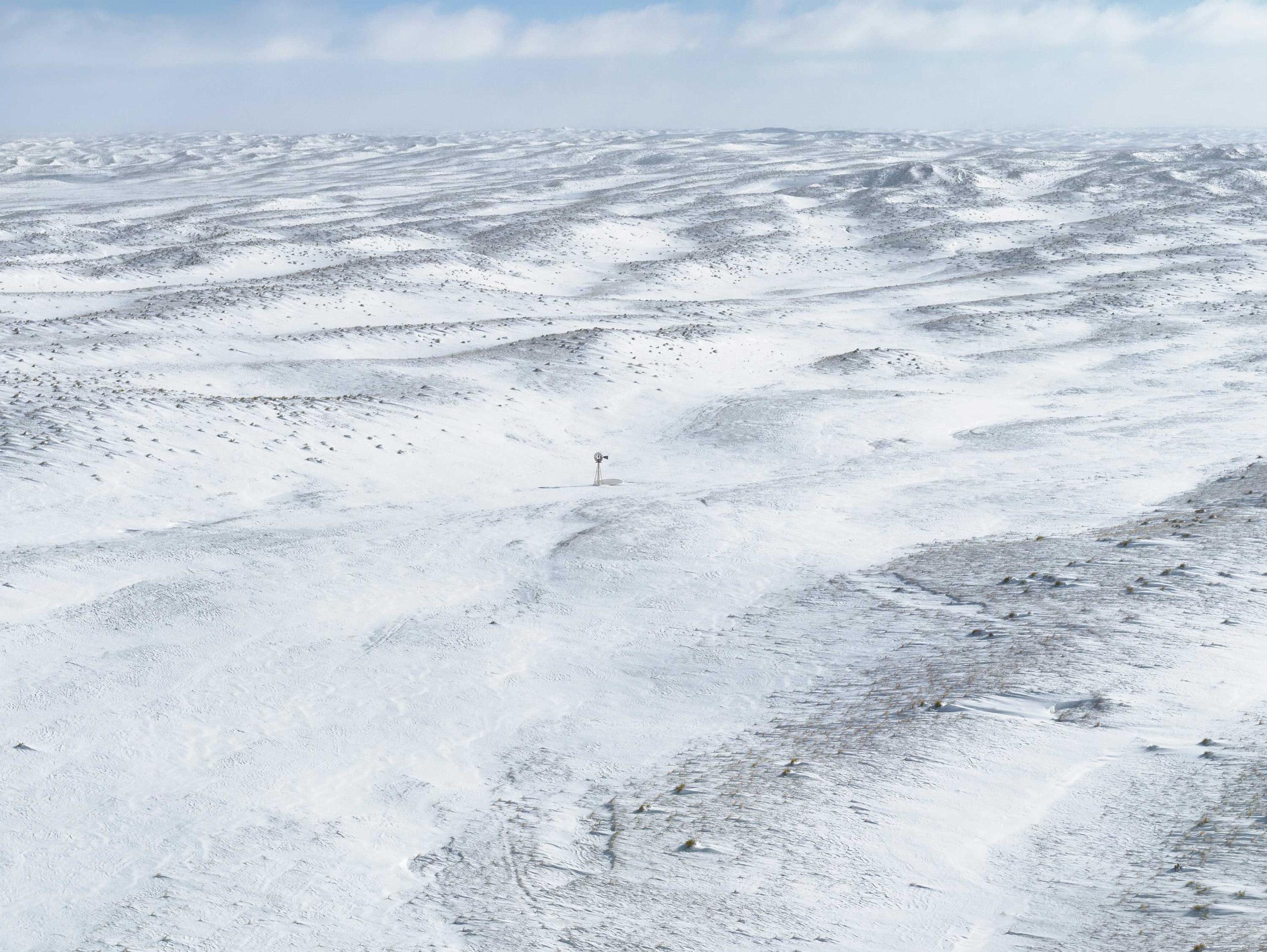 Sandhills Blizzard. Cherry County, Nebraska, 2013.