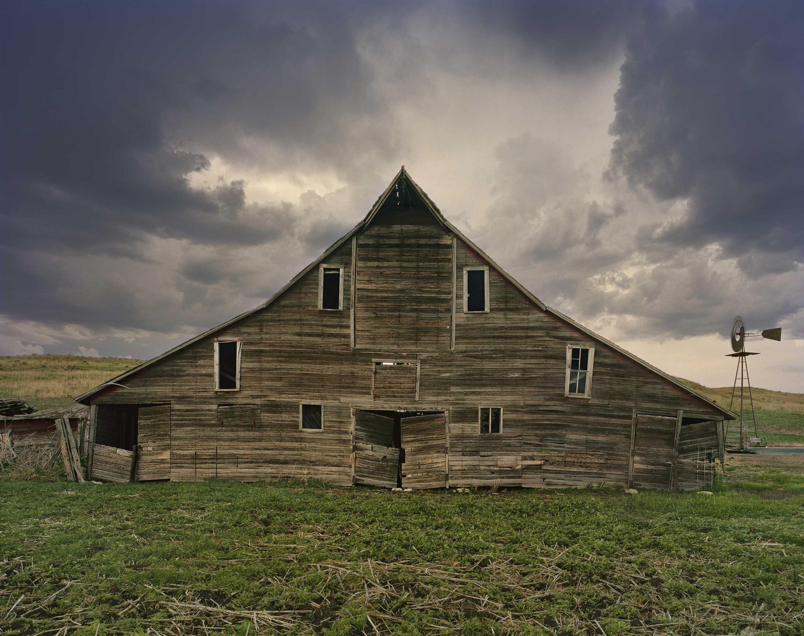 Cash Meier Barn. Shadbolt Ranch, Cherry County, Nebraska, 2012.