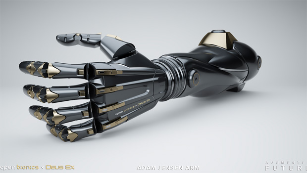 The 'Adam Jensen arm' from Open Bionics