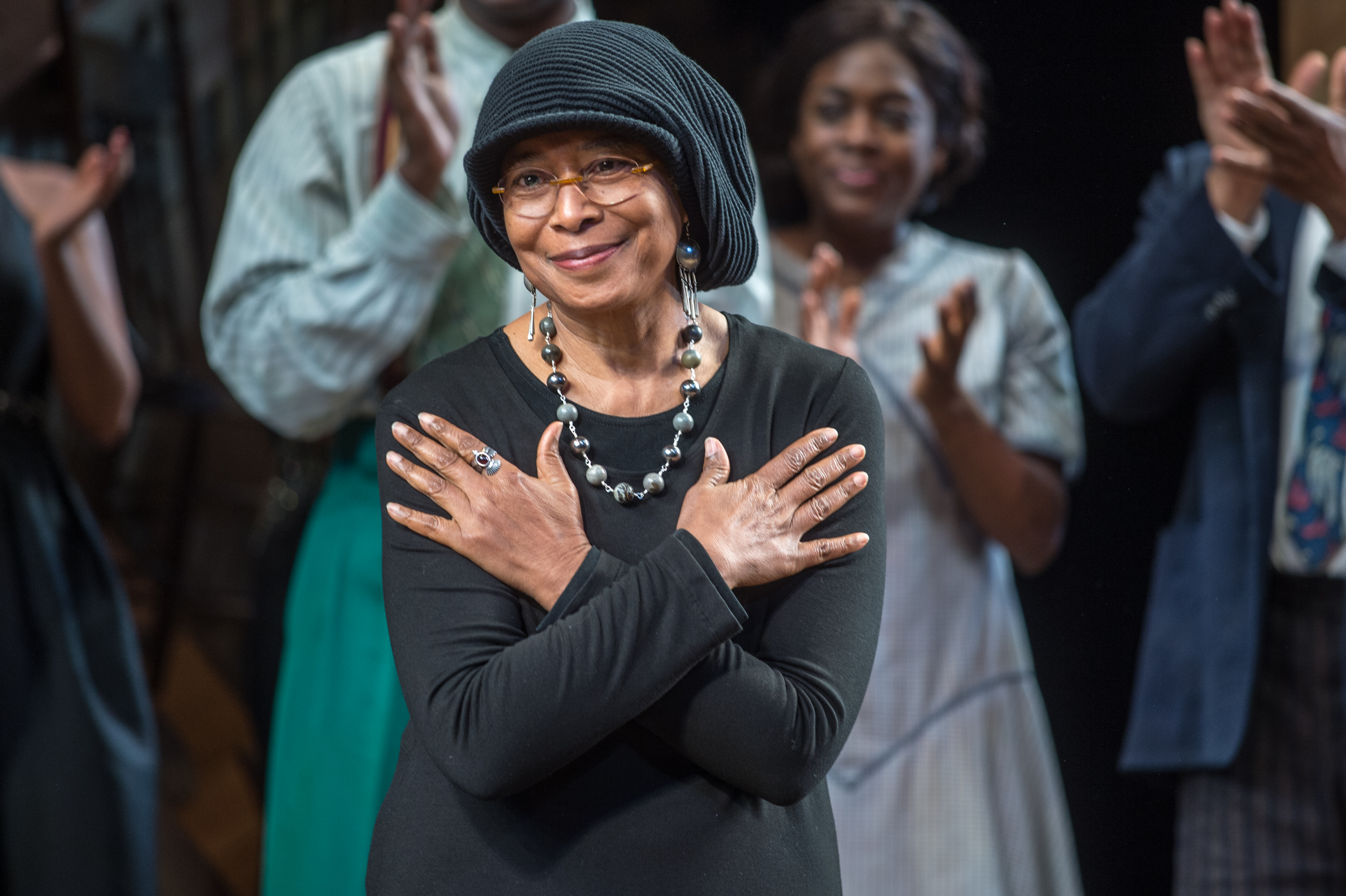 The Color Purple  Broadway Opening Night - Arrivals And Curtain Call