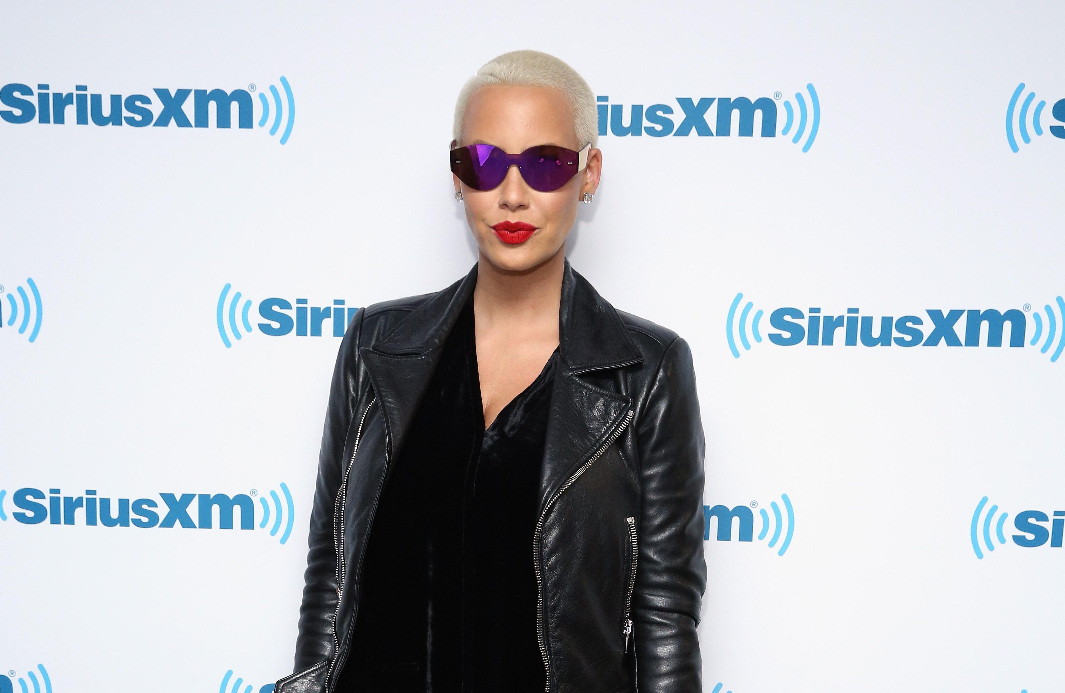 Amber Rose visits at SiriusXM Studio on June 17, 2016 in New York City.