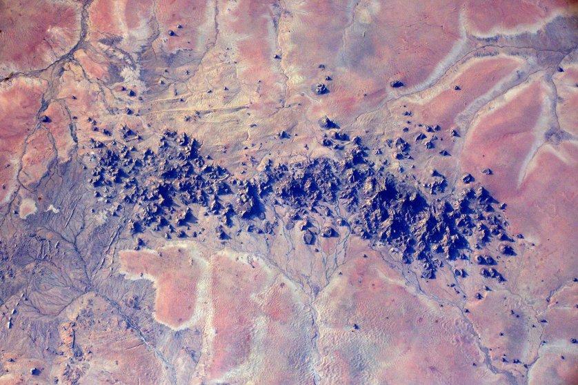 Rock formations in Mellit, Sudan, Feb. 27, 2016.