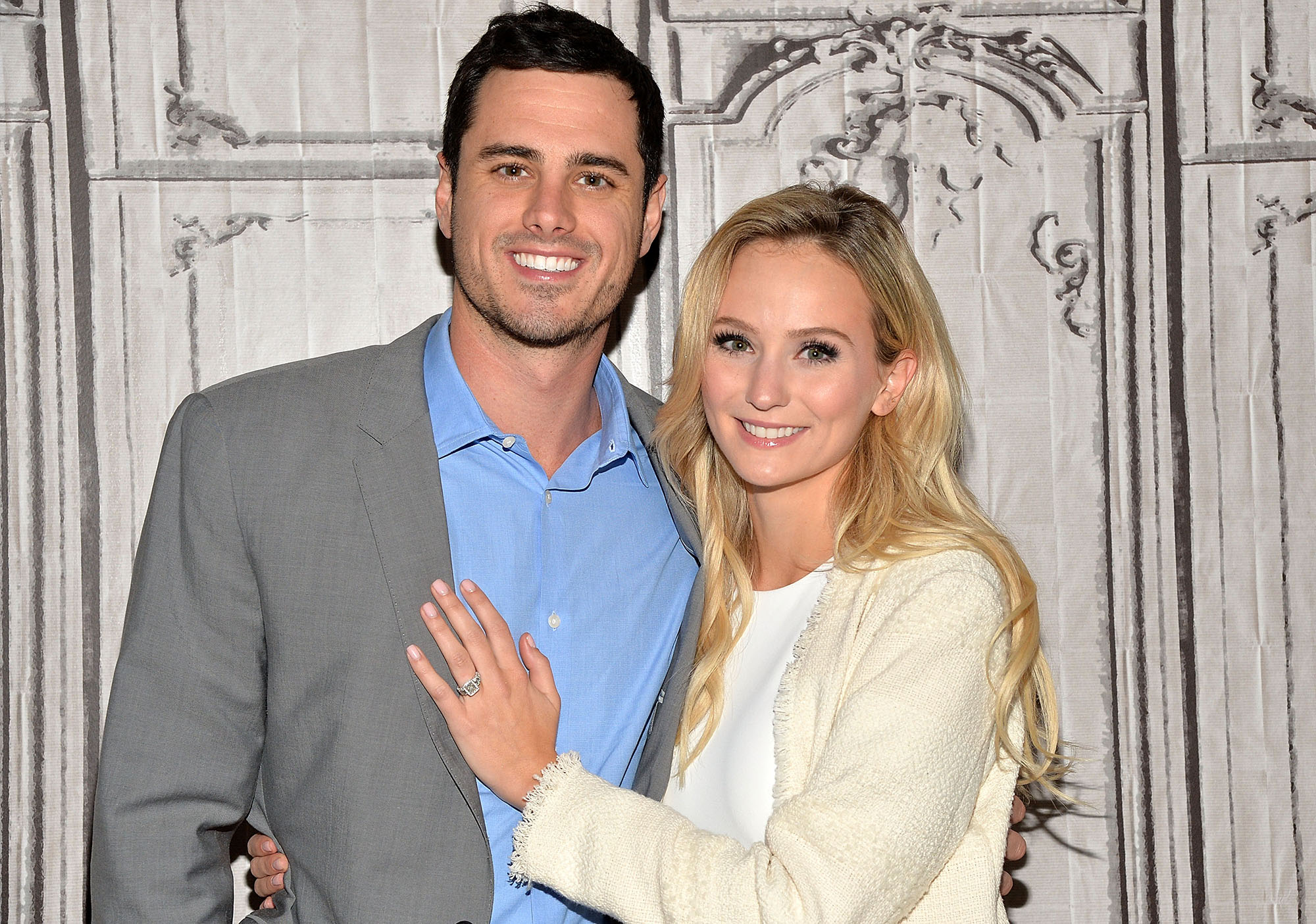 NEW YORK, NY - MARCH 15:  Bachelor Ben Higgins and Lauren Bushnell (Photo by Slaven Vlasic/Getty Images)