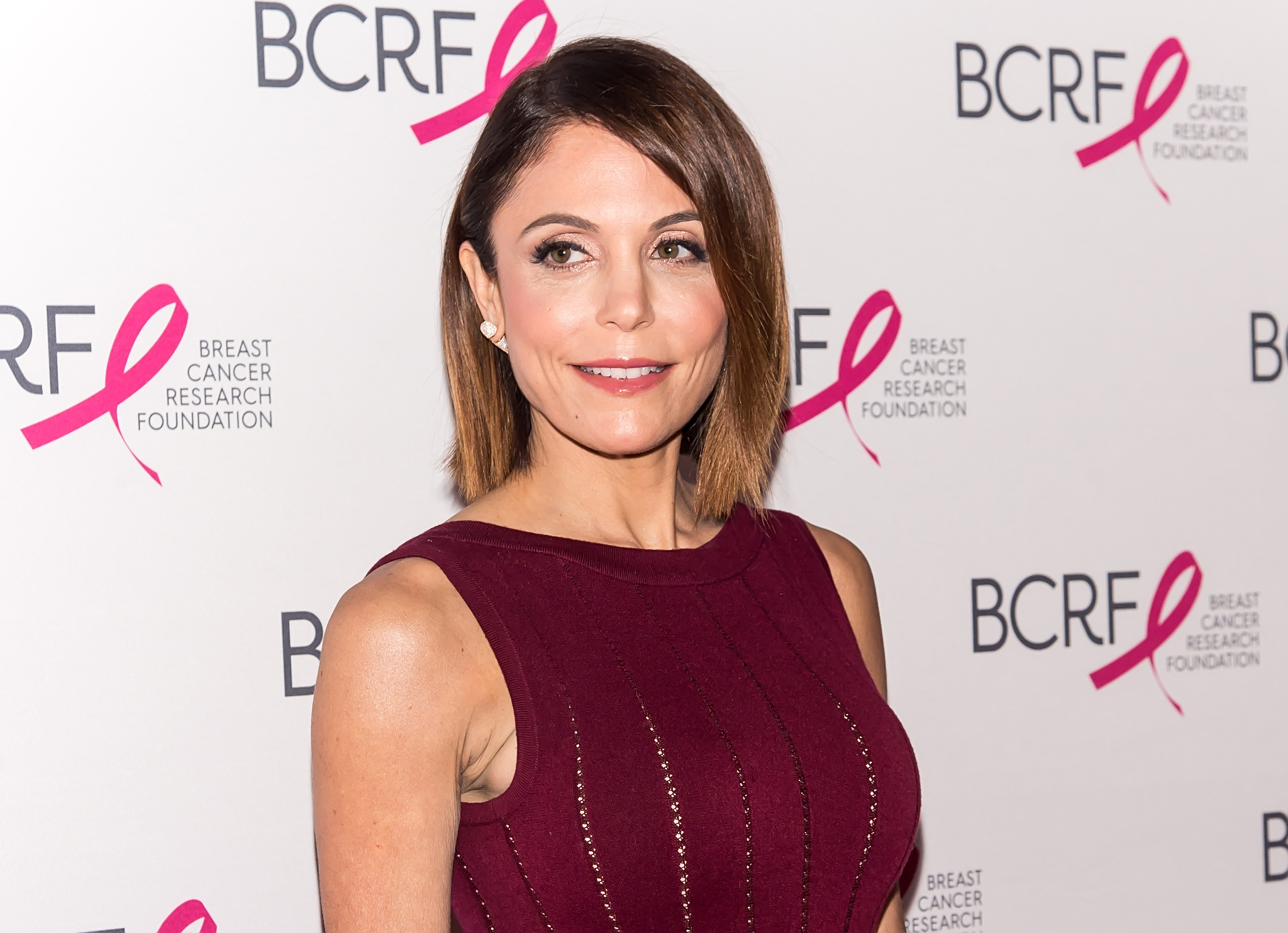 Bethenny Frankel attends the Breast Cancer Research Foundation Hot Pink Party at in New York City, on April 12, 2016.