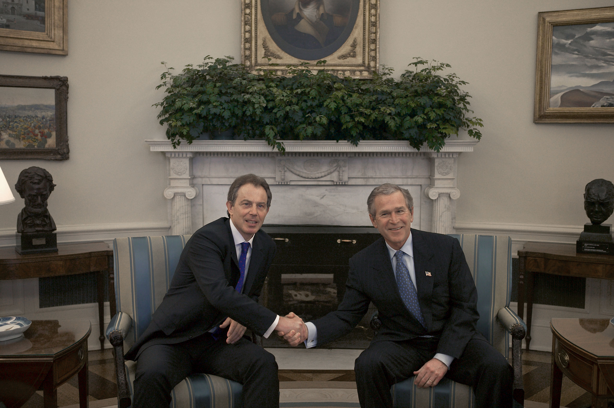 Did Blair secretly agree to back Bush on going to war in Iraq? A new report may reveal the answer