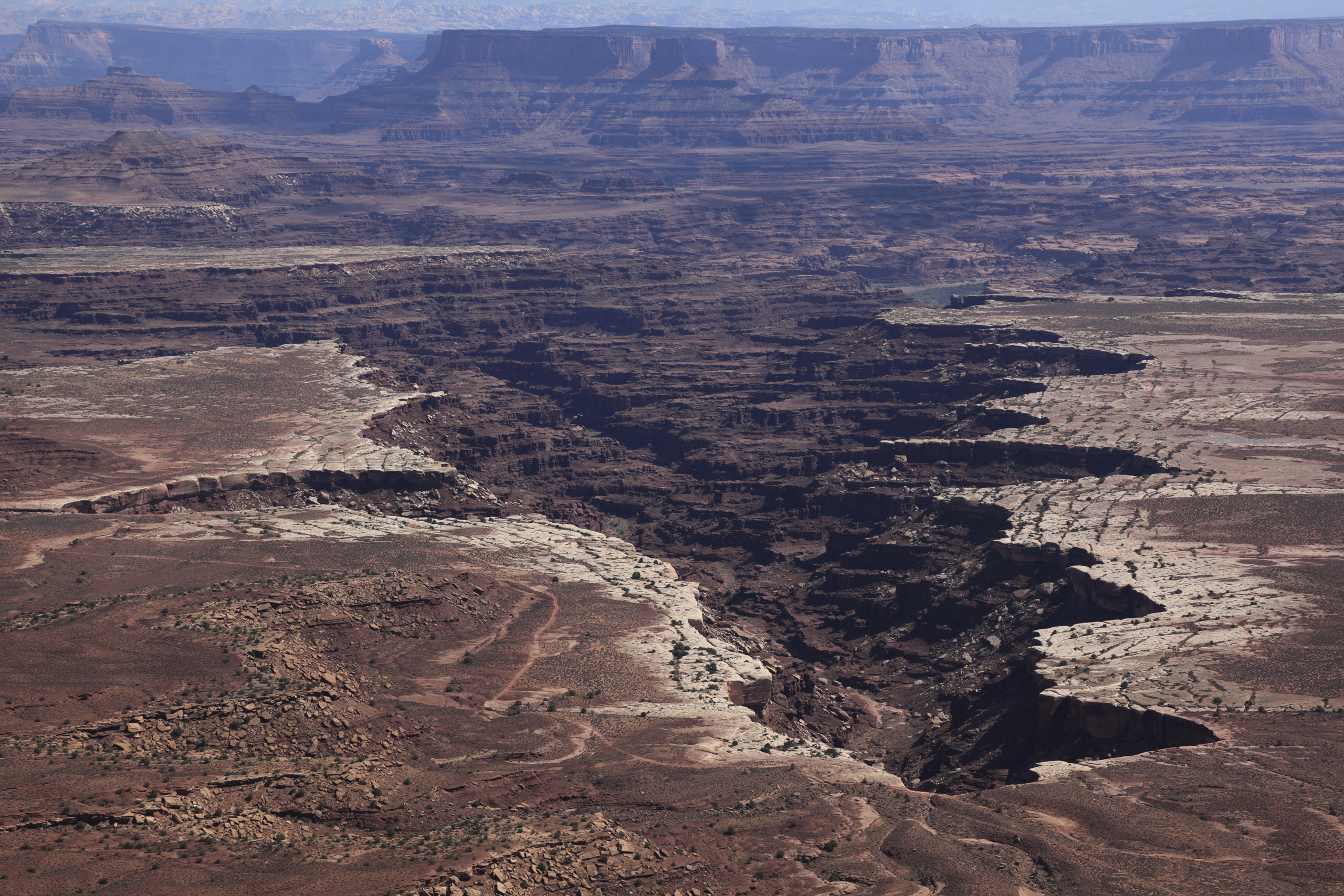 Utah, View of Black Canyon in Canyonlands National Park.