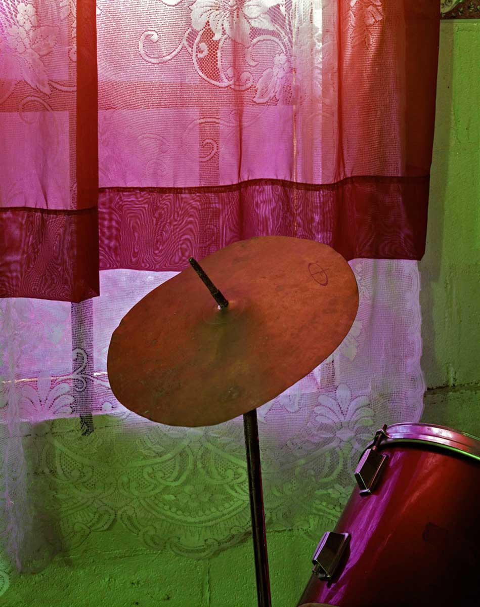 Church Drum Kit. Clarksdale, Mississippi, 2012