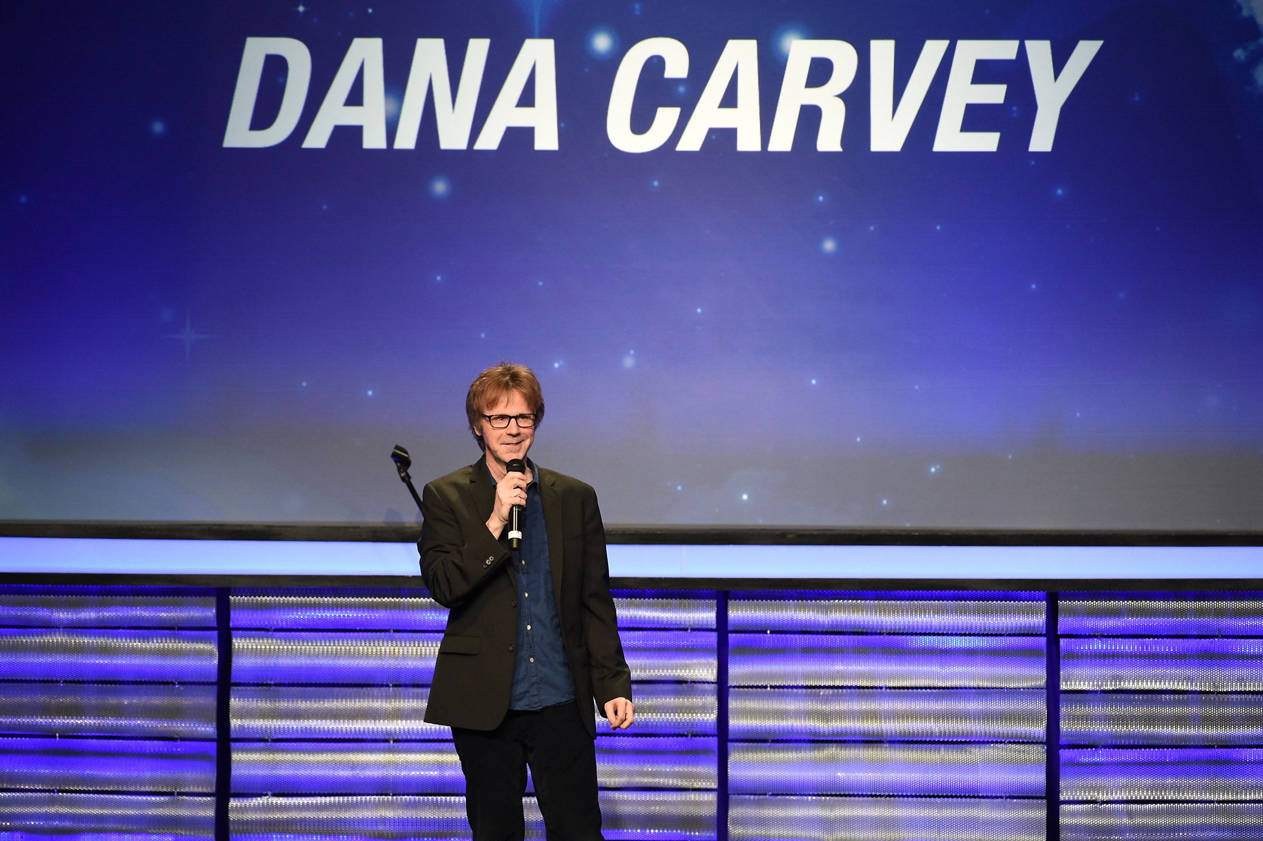 Dana Carvey performs at the 4th Annual Evening To Foster Dreams at The Beverly Hilton Hotel on May 10, 2016.