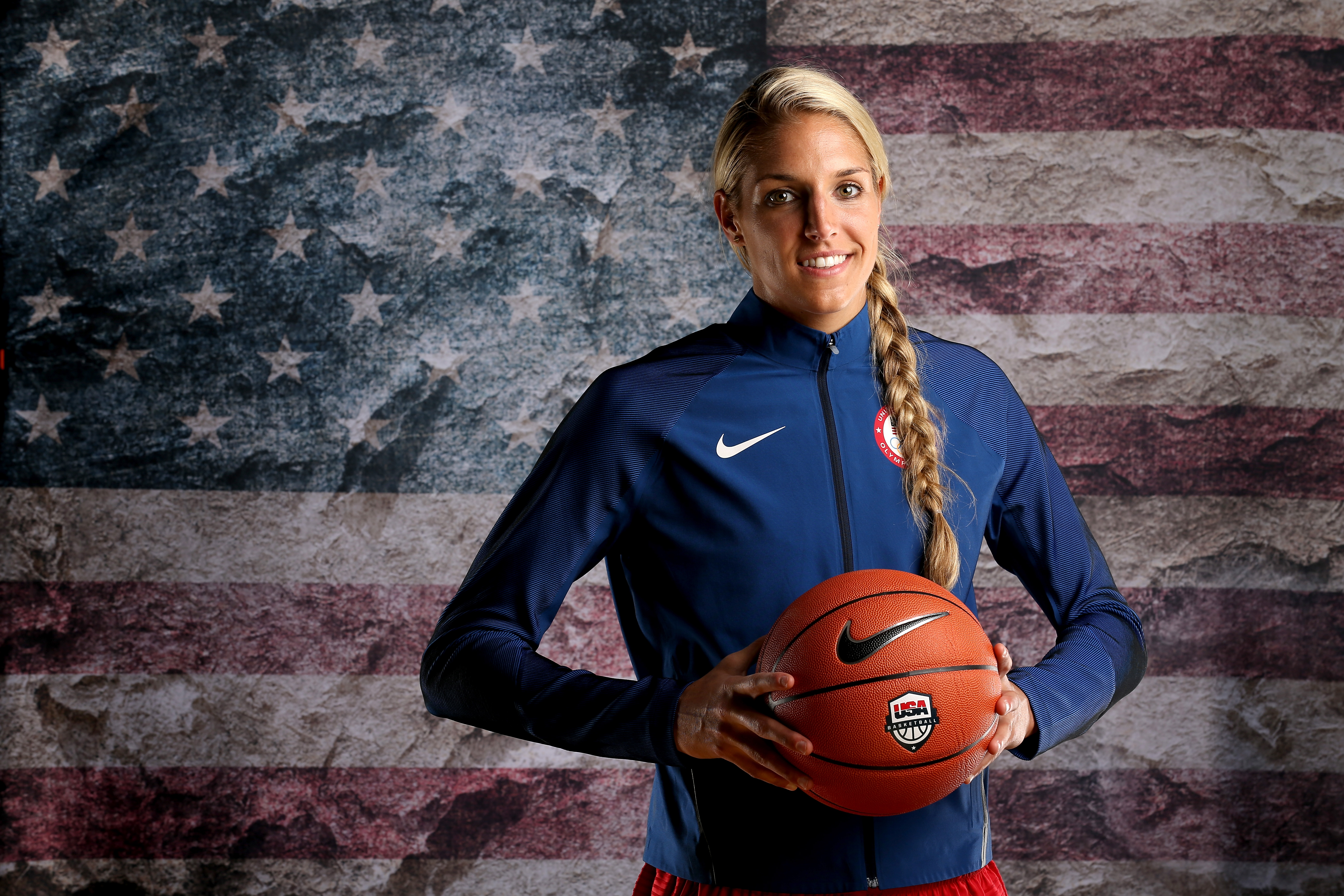 Elena Delle Donne at the 2016 Team USA Media Summit in Beverly Hills, Calif. on March 9, 2016.