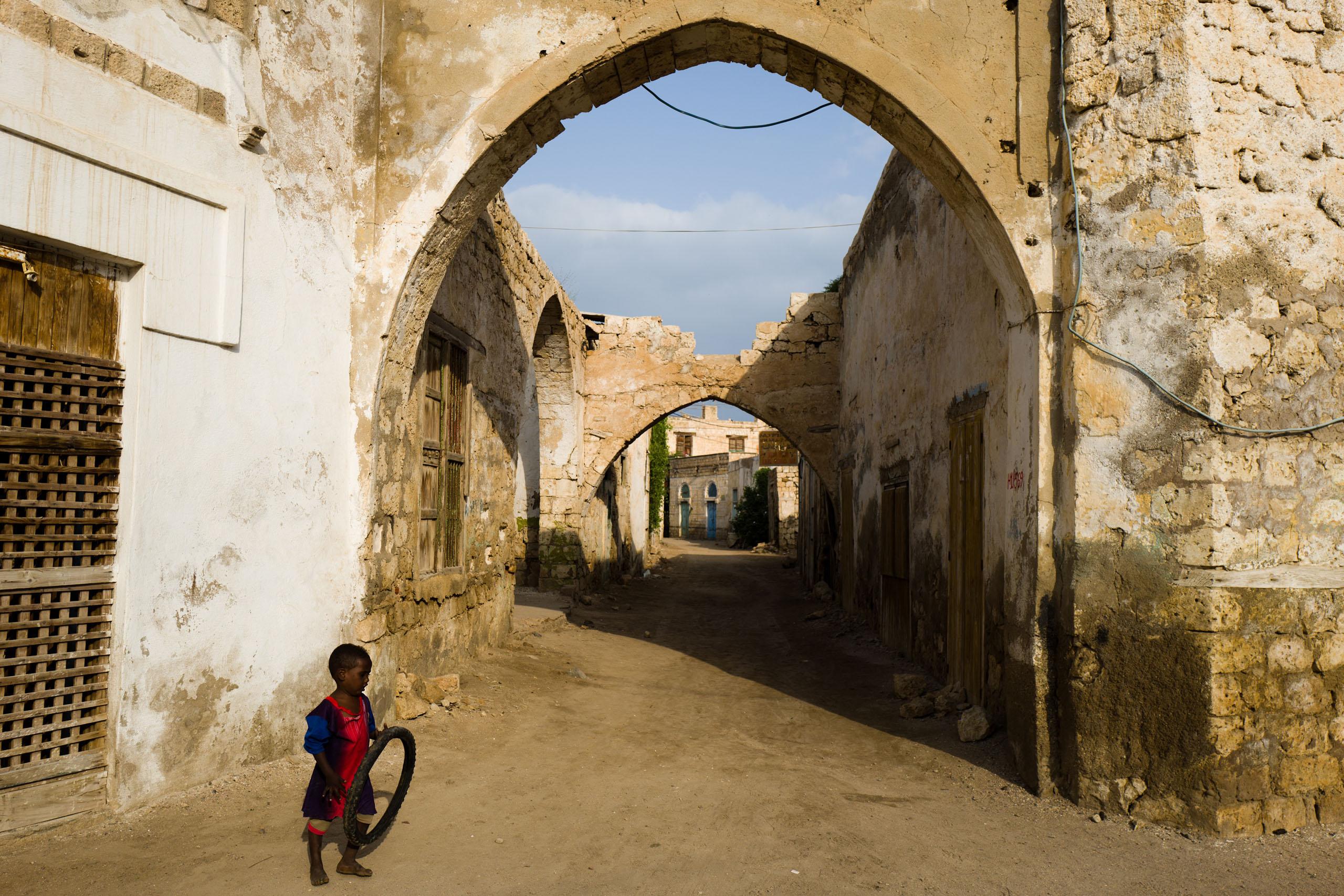 Street view of  Massawa.