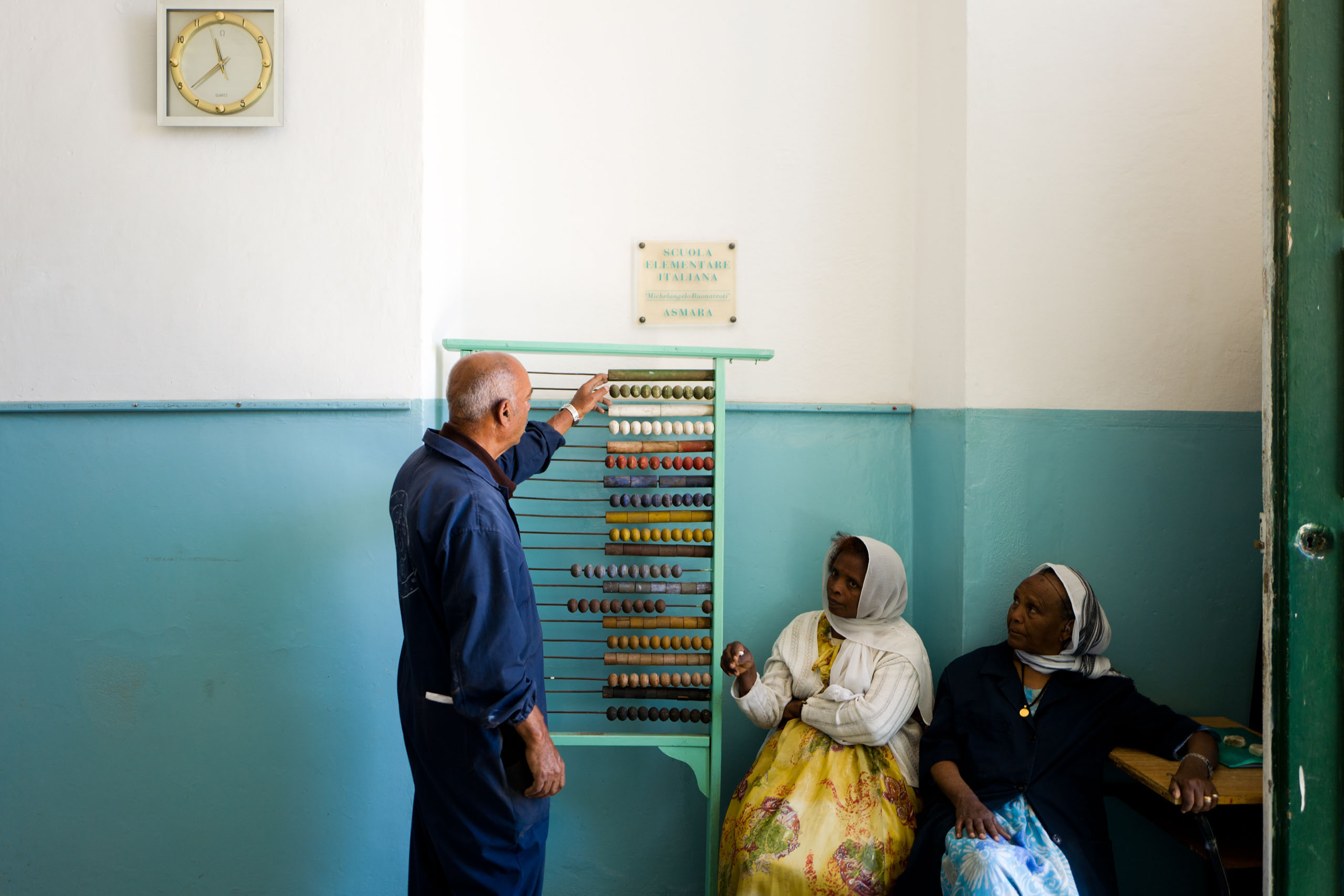 The Italian School of Asmara.