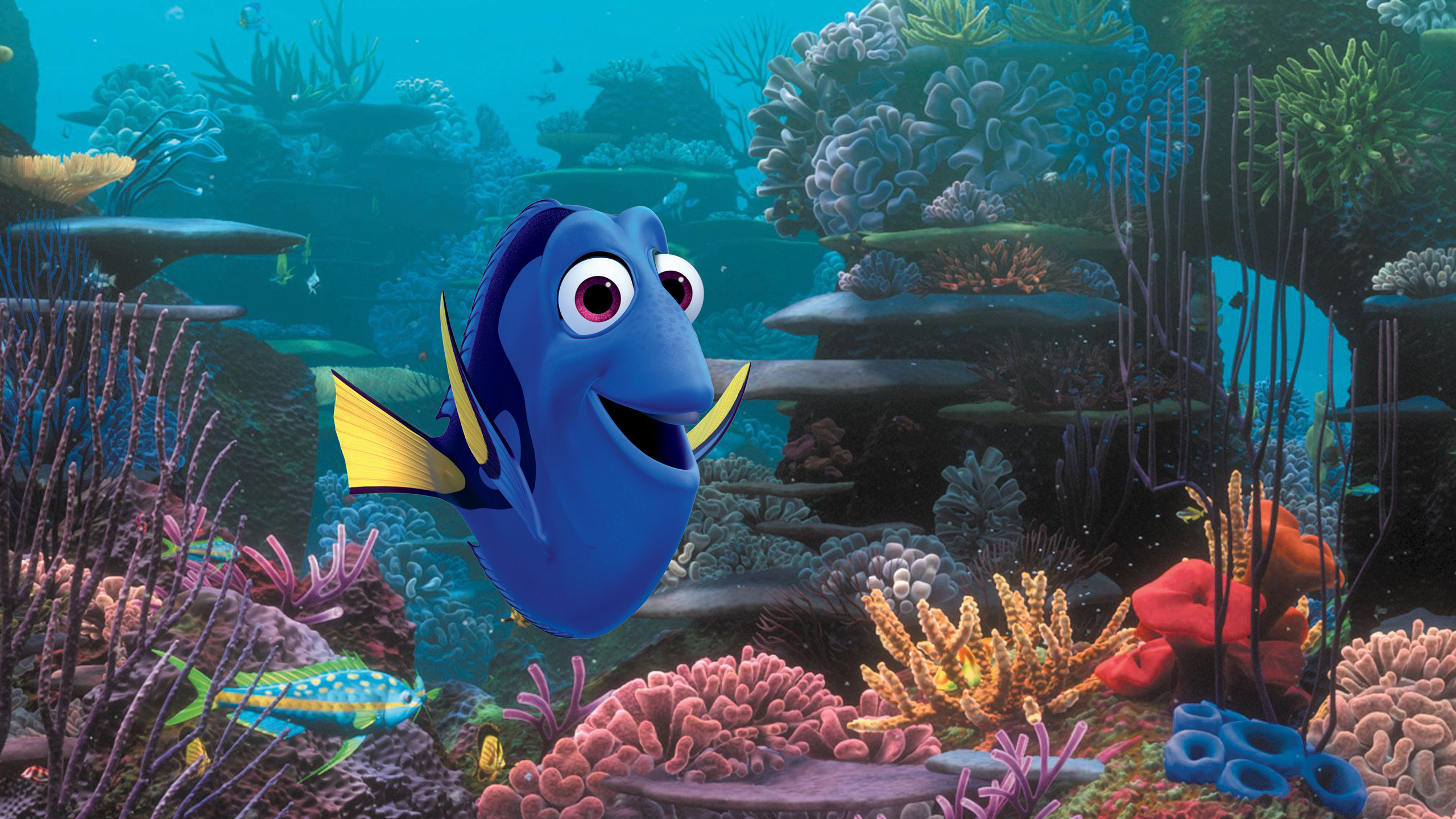 Dory, voiced by Ellen DeGeneres, in a scene from the Pixar sequel  Finding Dory.