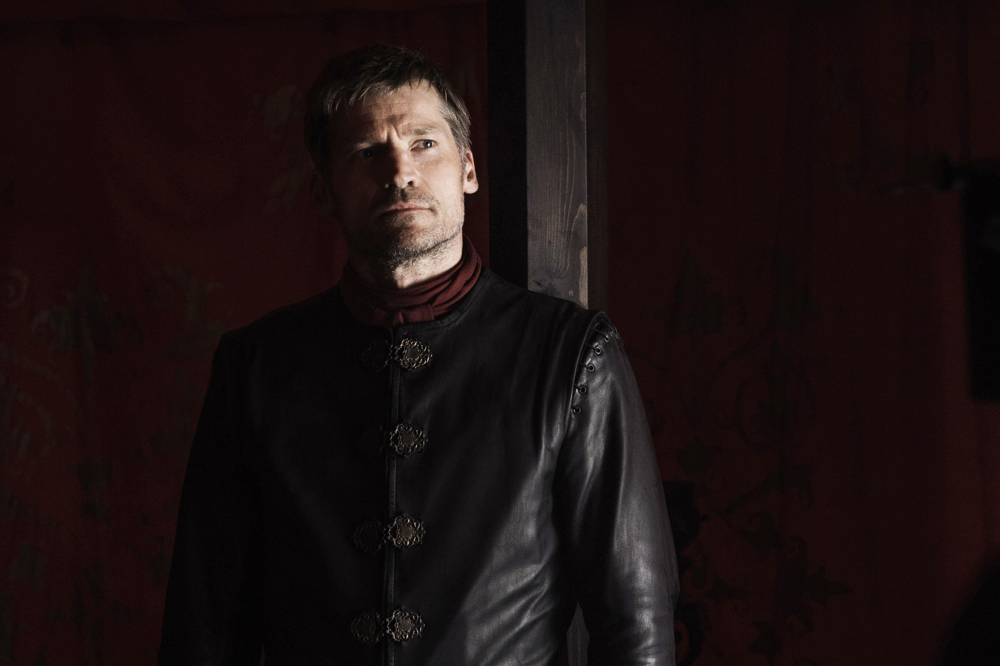 Nikolaj Coster-Waldau in Game of Thrones, season 6, episode 8.