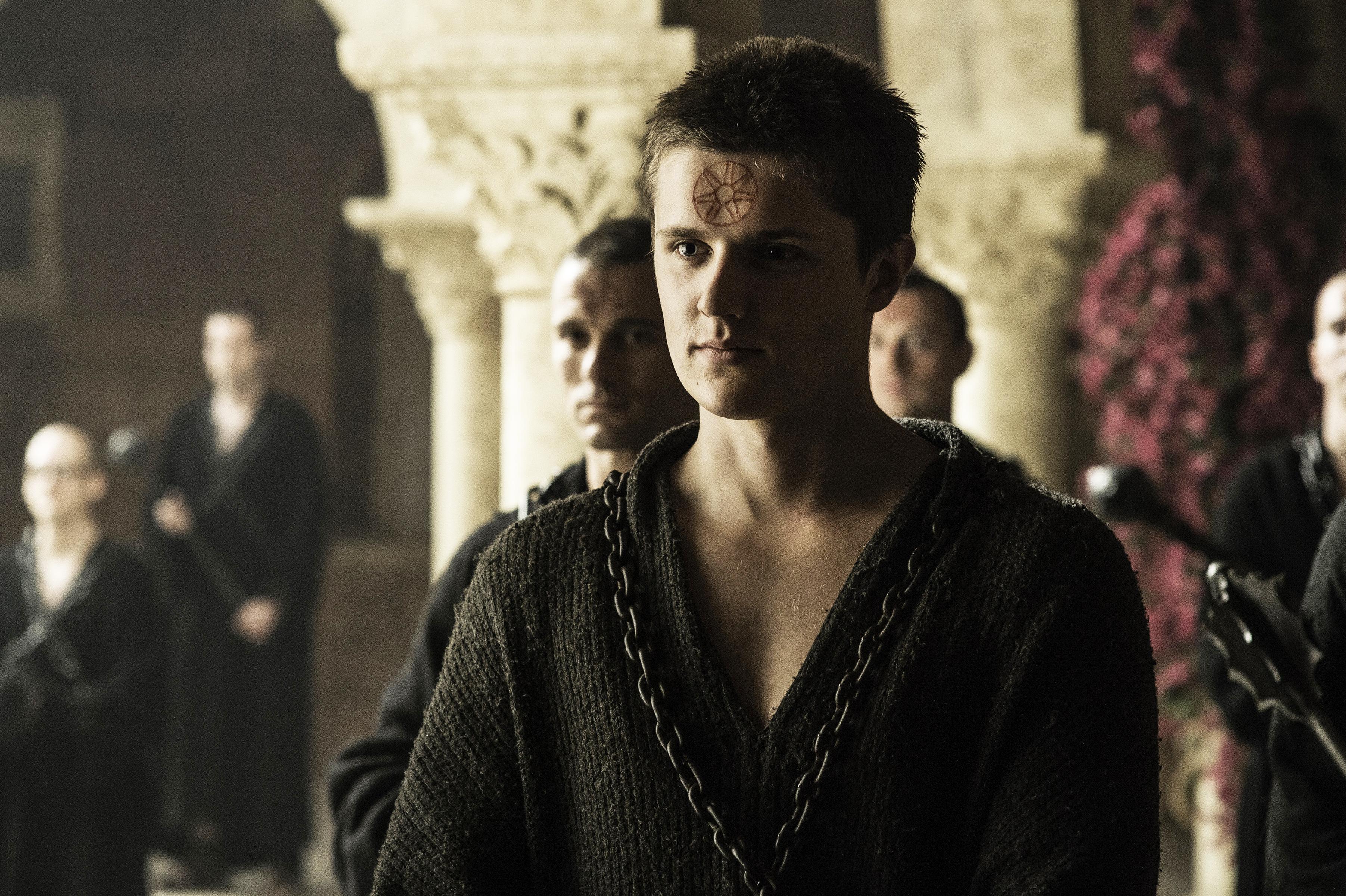 Eugene Simon in Game of Thrones, season 6, episode 8.