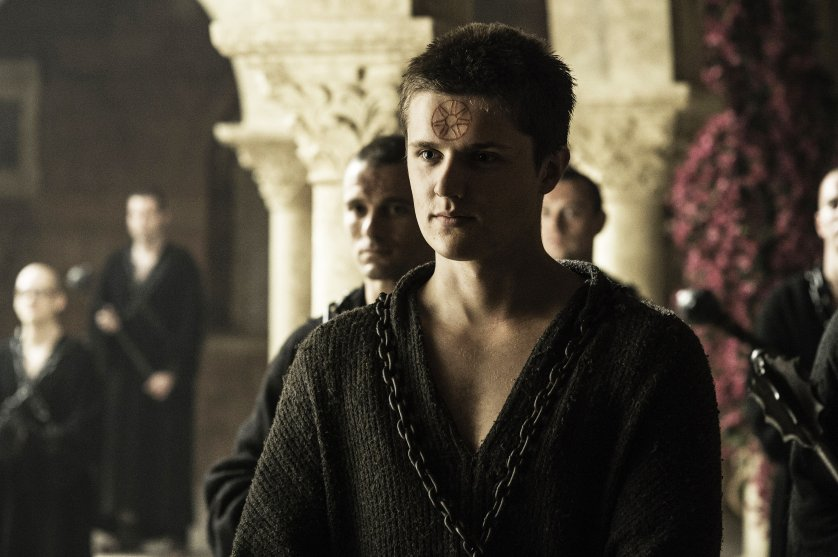 Eugene Simon in Game of Thrones, season 6, episode 8.