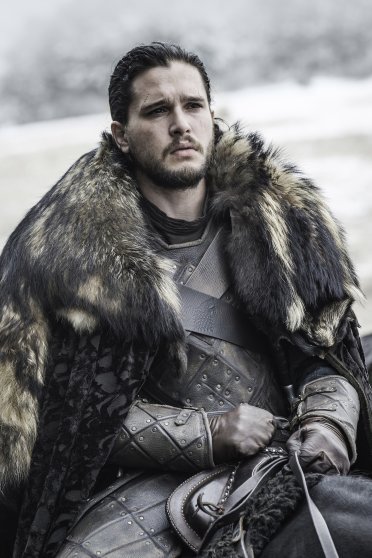 Kit Harington in Game of Thrones, season 6, episode 9.