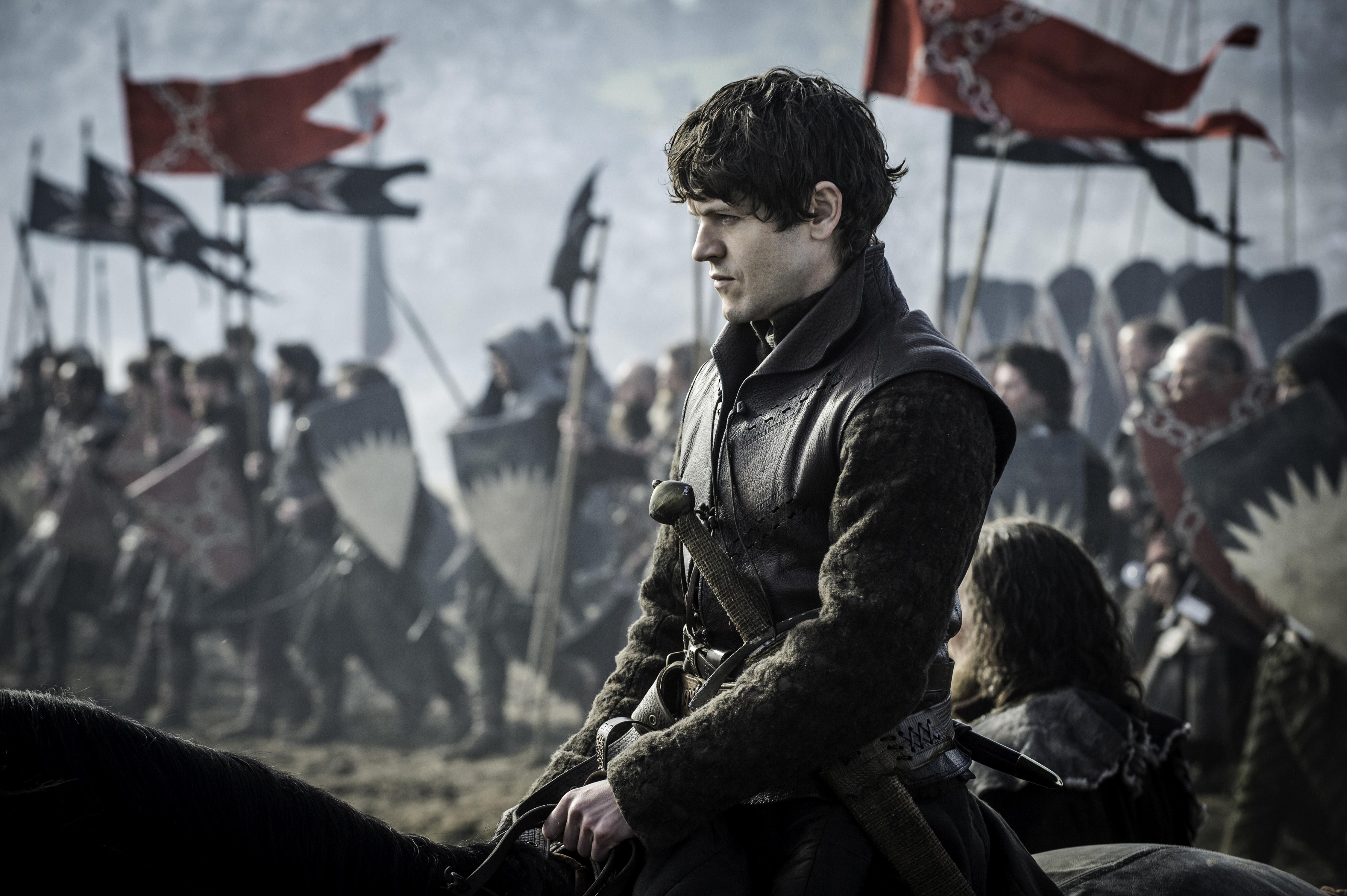 Iwan Rheon in Game of Thrones, season 6, episode 9.