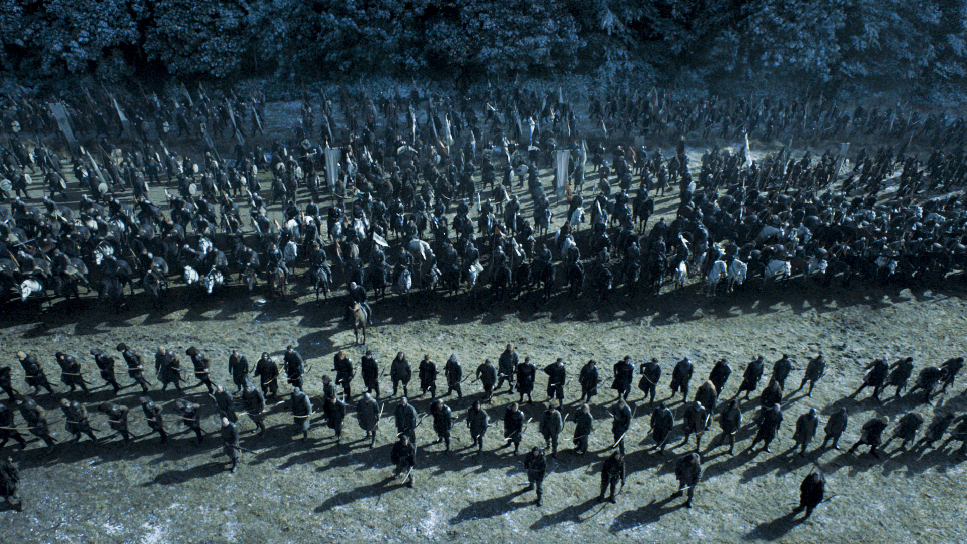 Game of Thrones, season 6, episode 9.