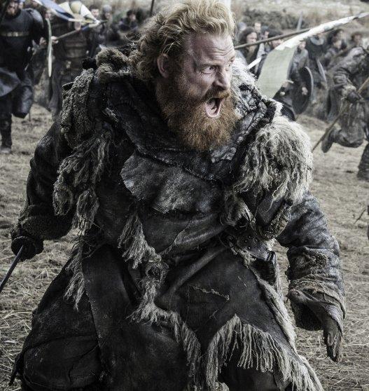 Kristofer Hivju in Game of Thrones, season 6, episode 9.