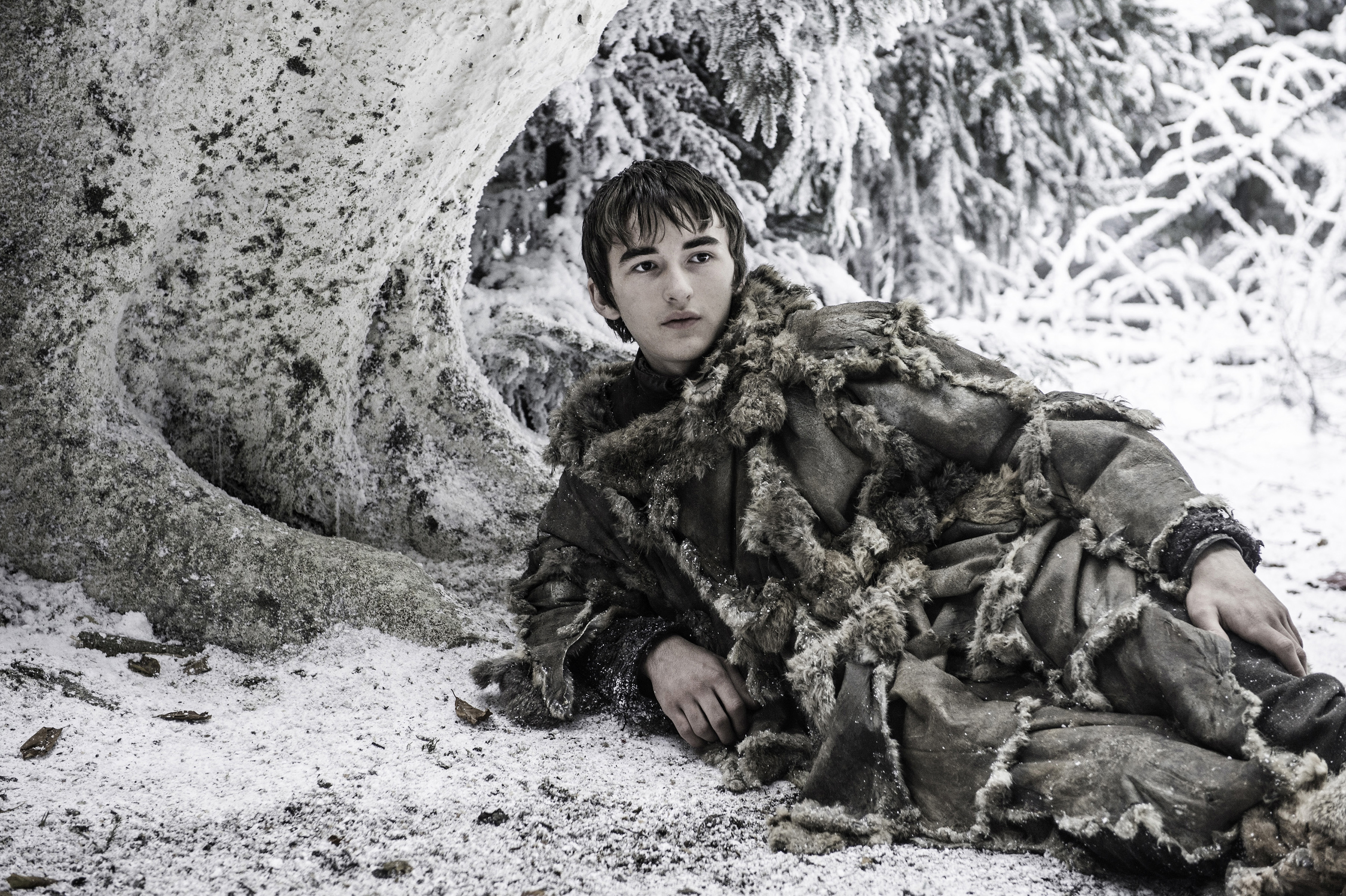 Isaac Hempstead Wright in Game of Thrones season 6, episode 10.