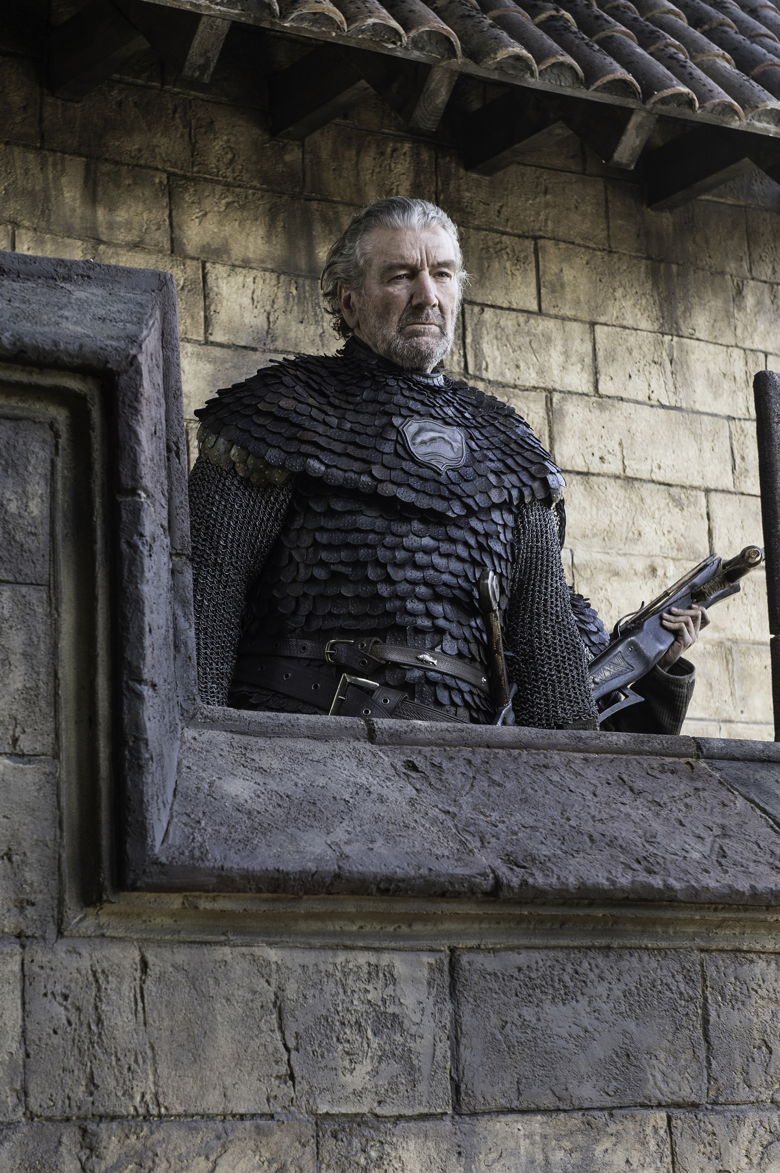 Clive Russell as Brynden Tully in Game of Thrones.