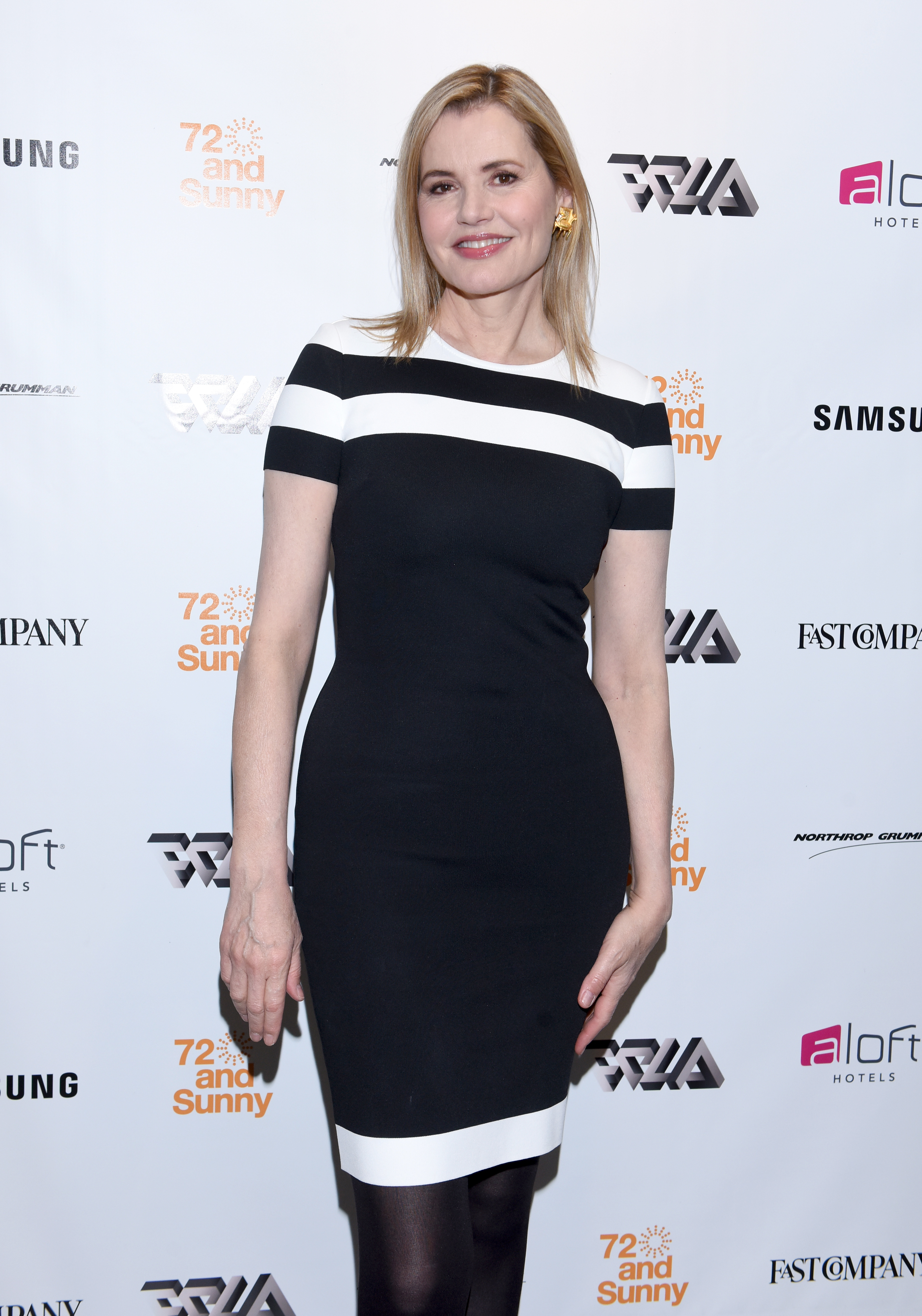 LOS ANGELES, CA - MAY 25:  Actress Geena Davis attends Fast Company Creativity Counter-Conference 2016 on May 24, 2016 in Los Angeles, California.