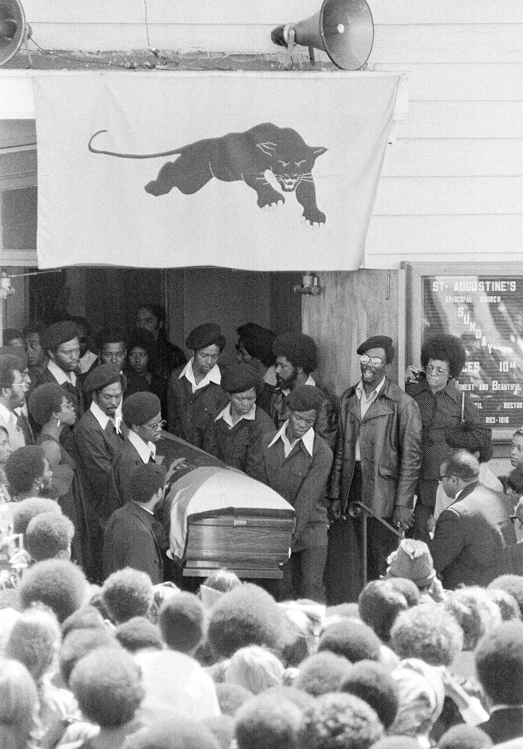 Soledad Brothers George Jackson Funeral 1971