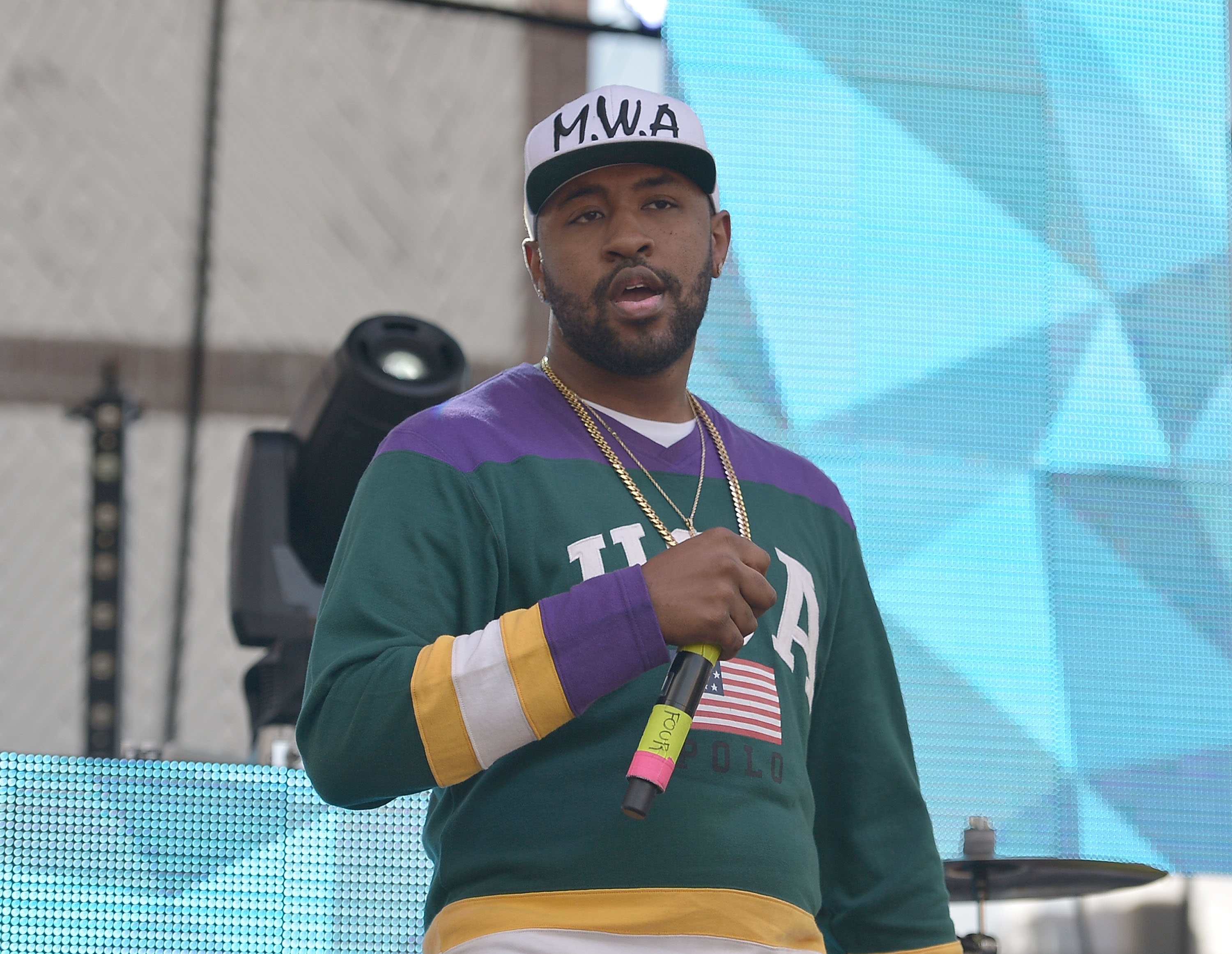 Mike Will Made It performs onstage at A3C Hip Hop Festival & Conference on October 11, 2015 in Atlanta, Georgia.