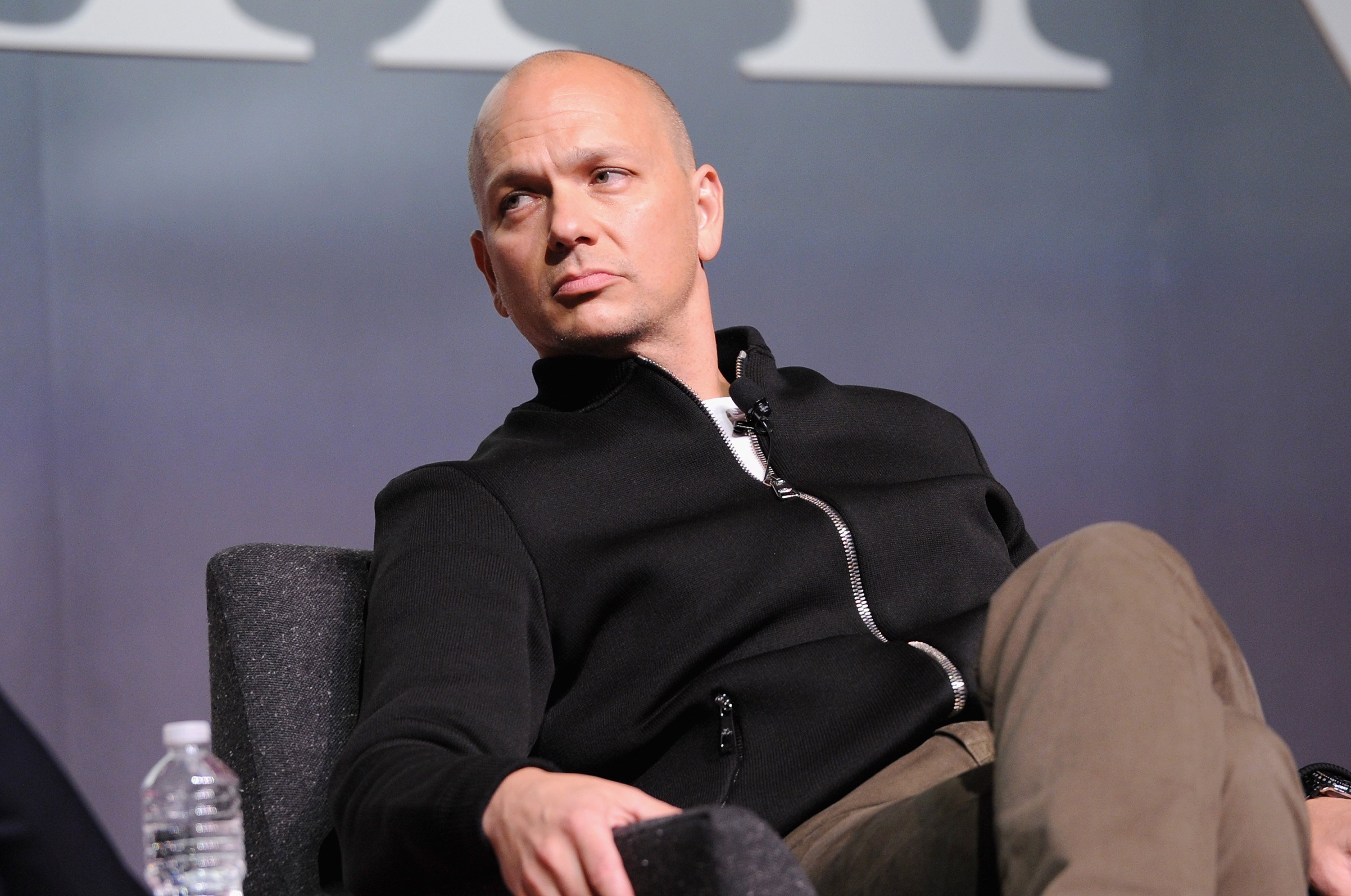 Designer Tony Fadell speaks onstage  The Power Of Design With Tony Fadell And Jared Leto  at The Fast Company Innovation Festival on November 10, 2015 in New York City.