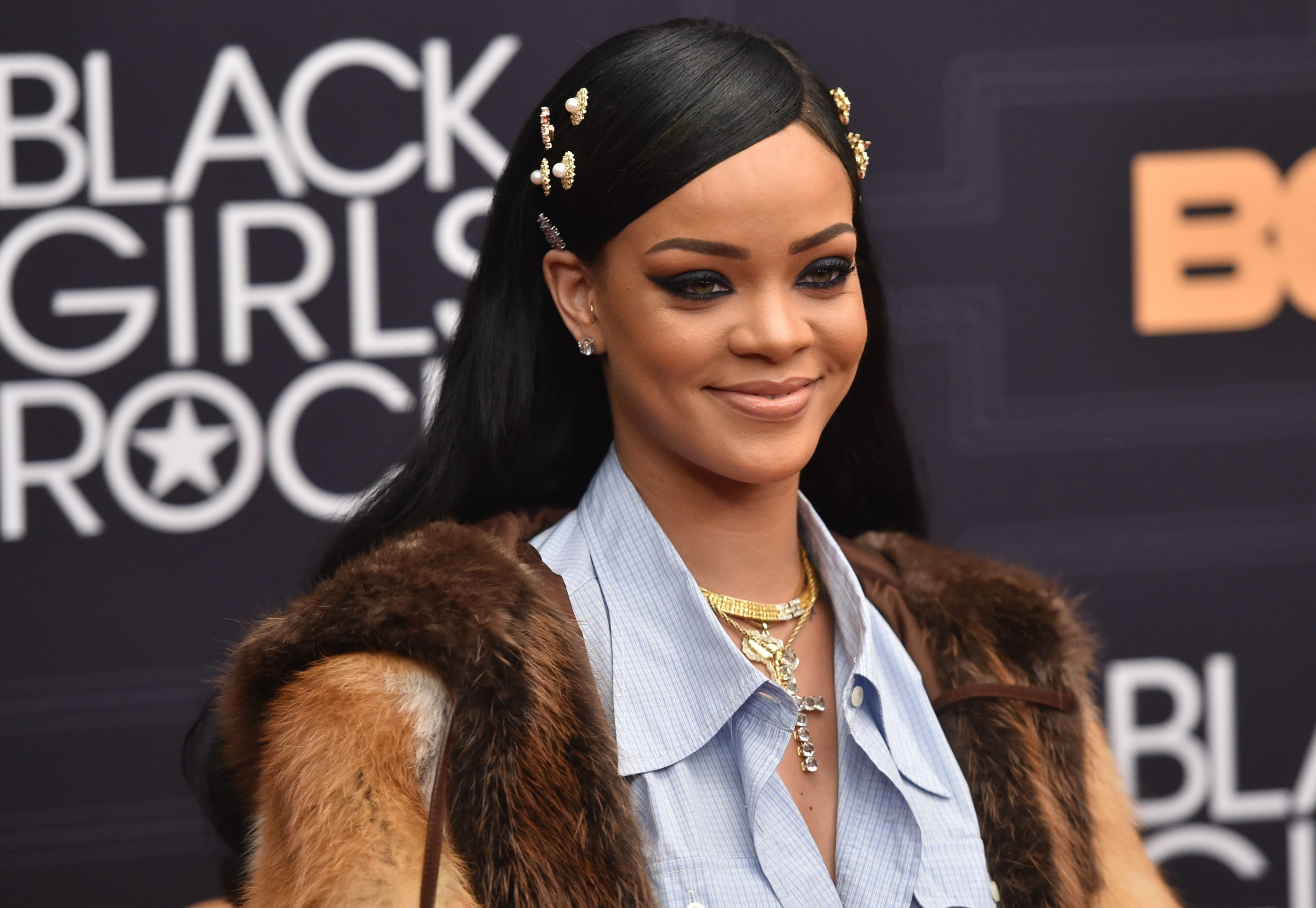 Rihanna attends Black Girls Rock! 2016 in Newark, New Jersey. (Photo by Paras Griffin/Getty Images)