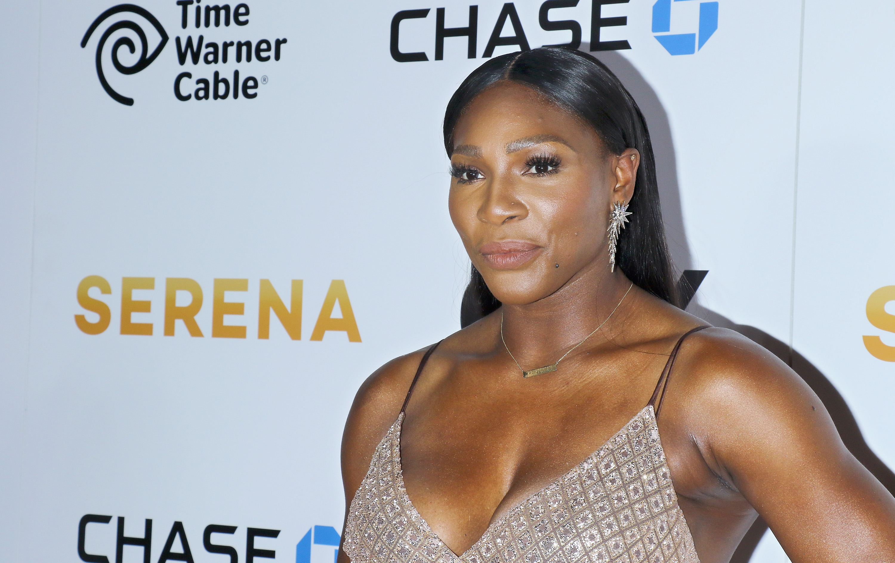 Serena Williams attends the premiere of EPIX original documentary  Serena  at SVA Theatre in New York City on June 13, 2016.