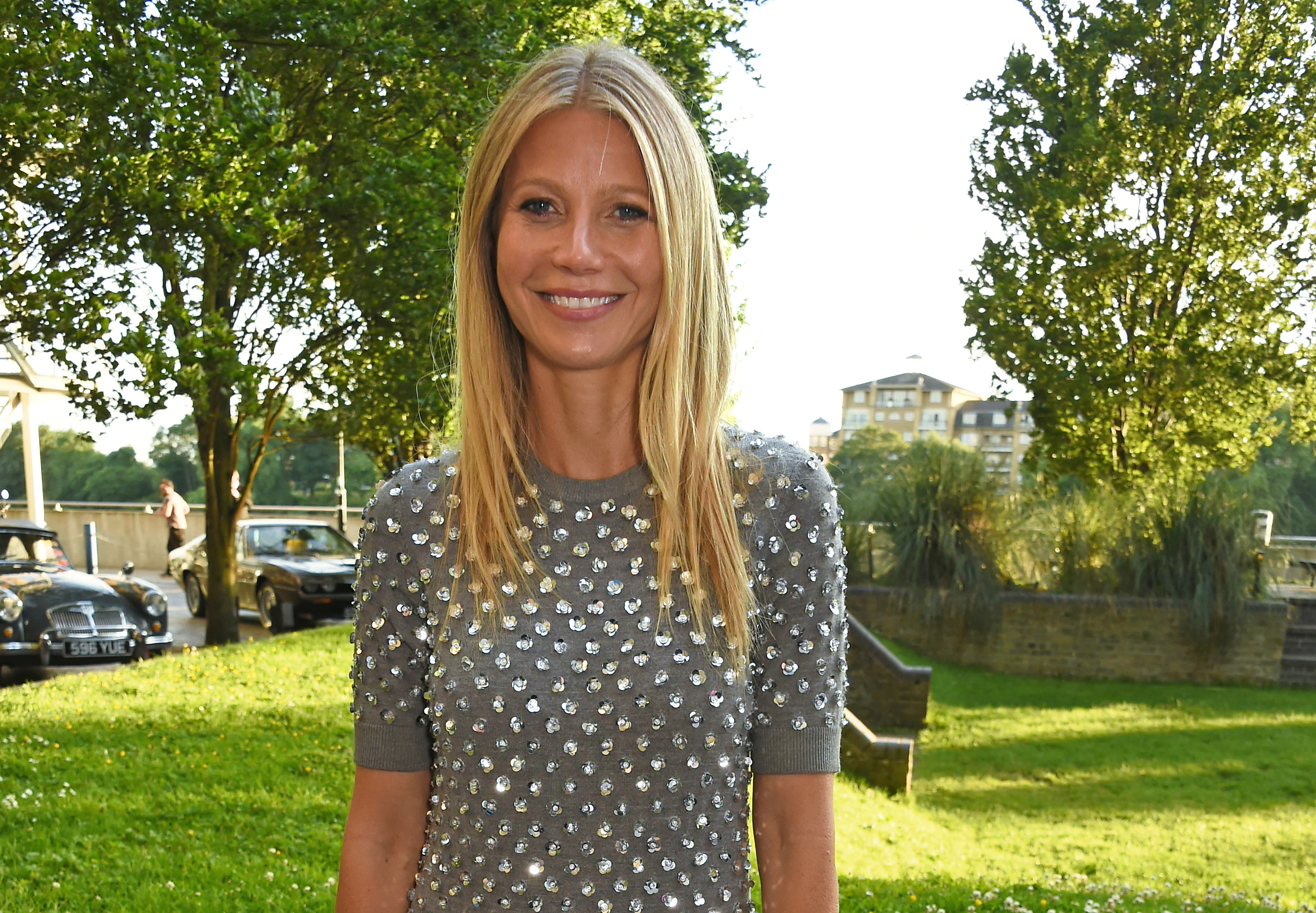 Gwyneth Paltrow attends a private dinner hosted by Michael Kors.