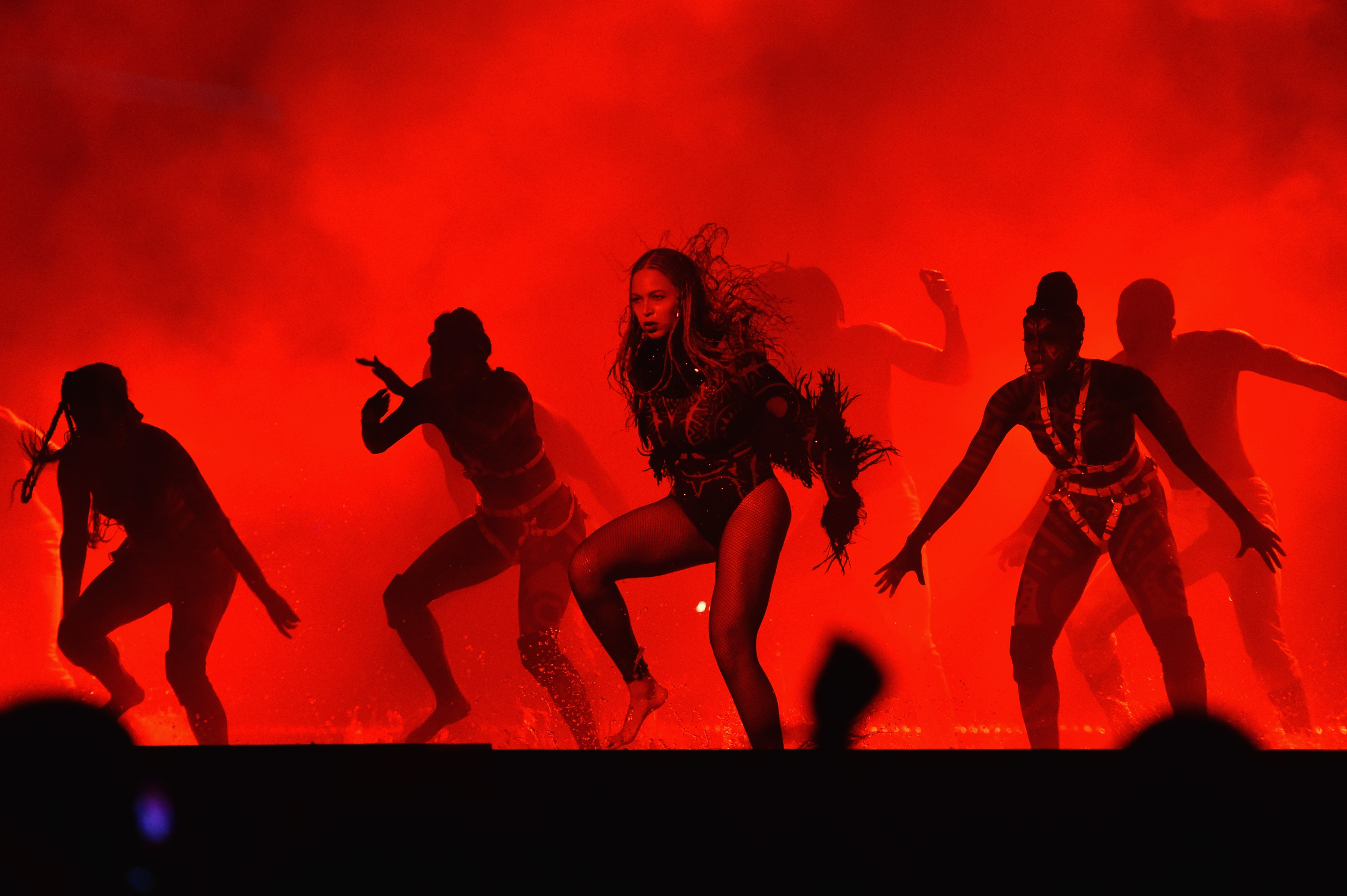 LOS ANGELES, CA - JUNE 26:  Recording artist Beyonce performs onstage during the 2016 BET Awards at the Microsoft Theater on June 26, 2016 in Los Angeles, California.  (Photo by Paras Griffin/BET/Getty Images for BET)