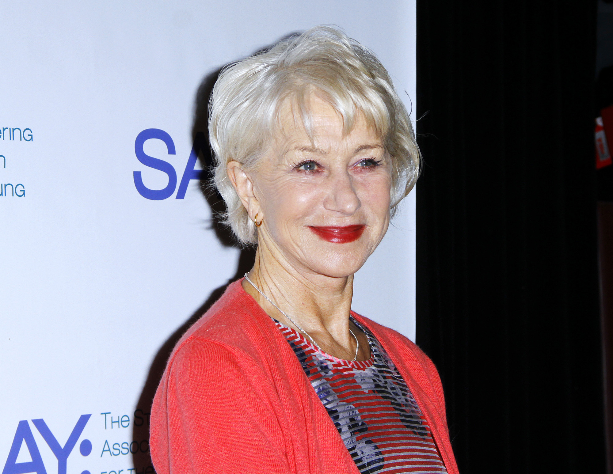 NEW YORK, NY - MAY 02:  Helen Mirren attends the 14th Annual Stuttering Association For The Young Benefit Gala (Photo by Donna Ward/Getty Images)