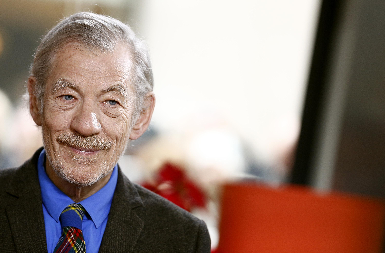 Ian McKellen appears on NBC News'  Today  show on December 02, 2013.