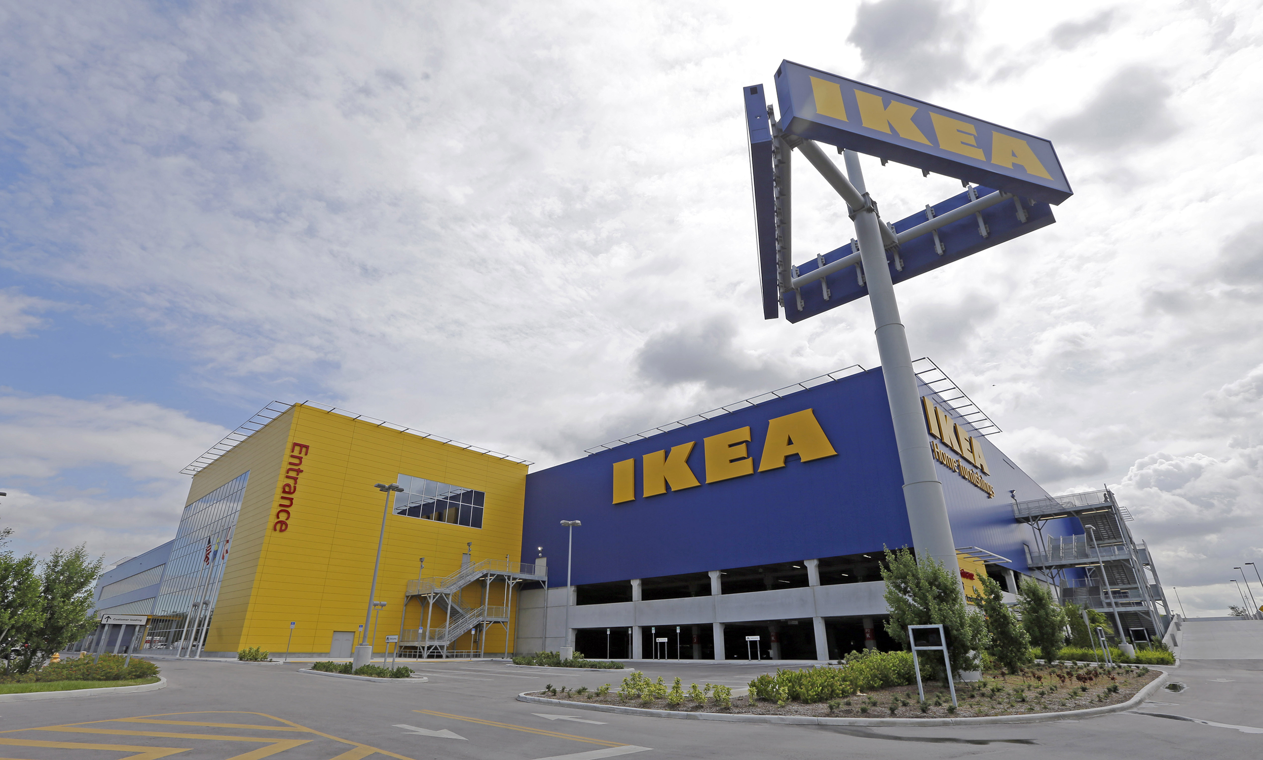 An IKEA store in Miami on June 3, 2015.