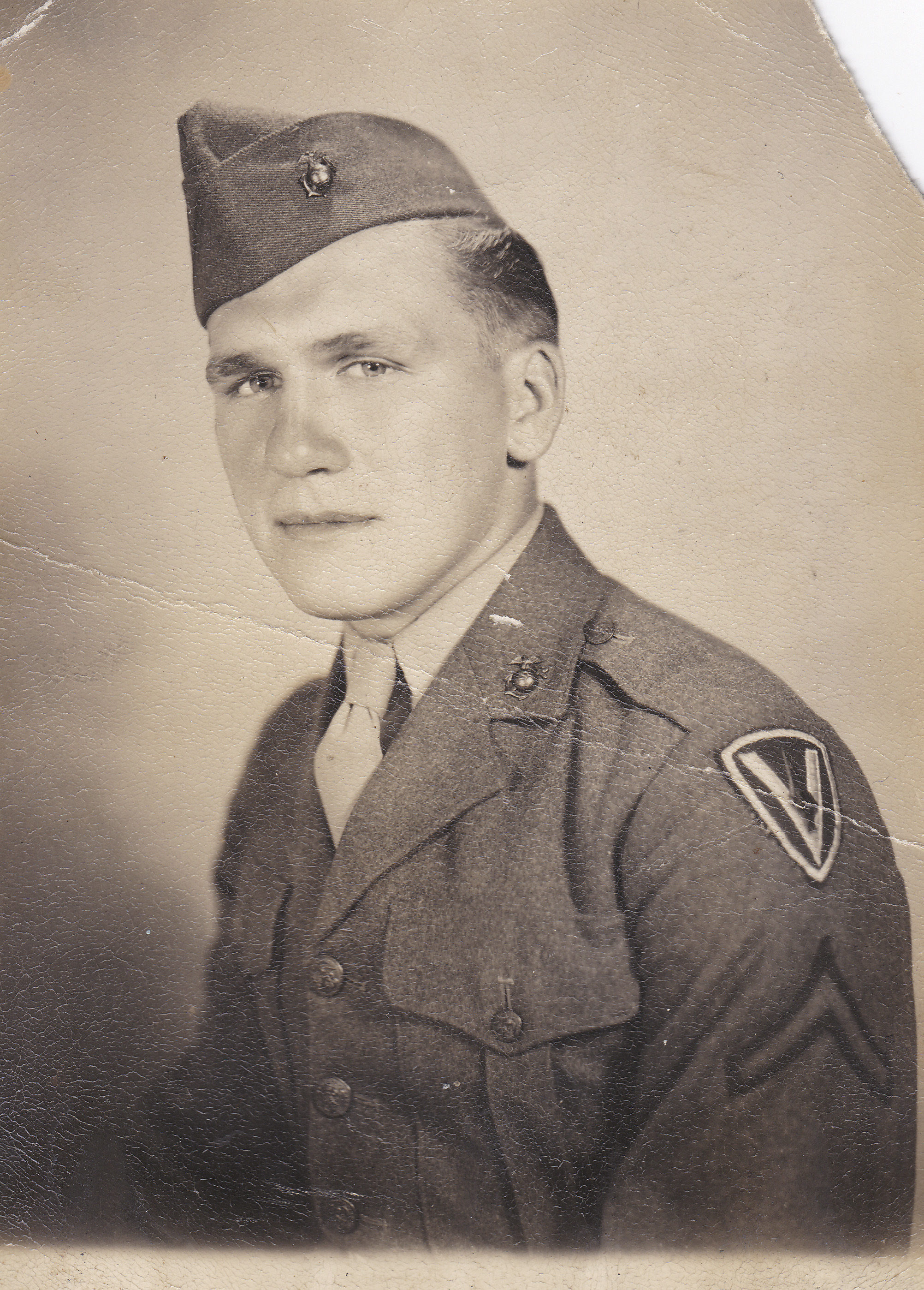 This undated photo provided by the Smithsonian Channel shows Private First Class Harold Schultz of Detroit.