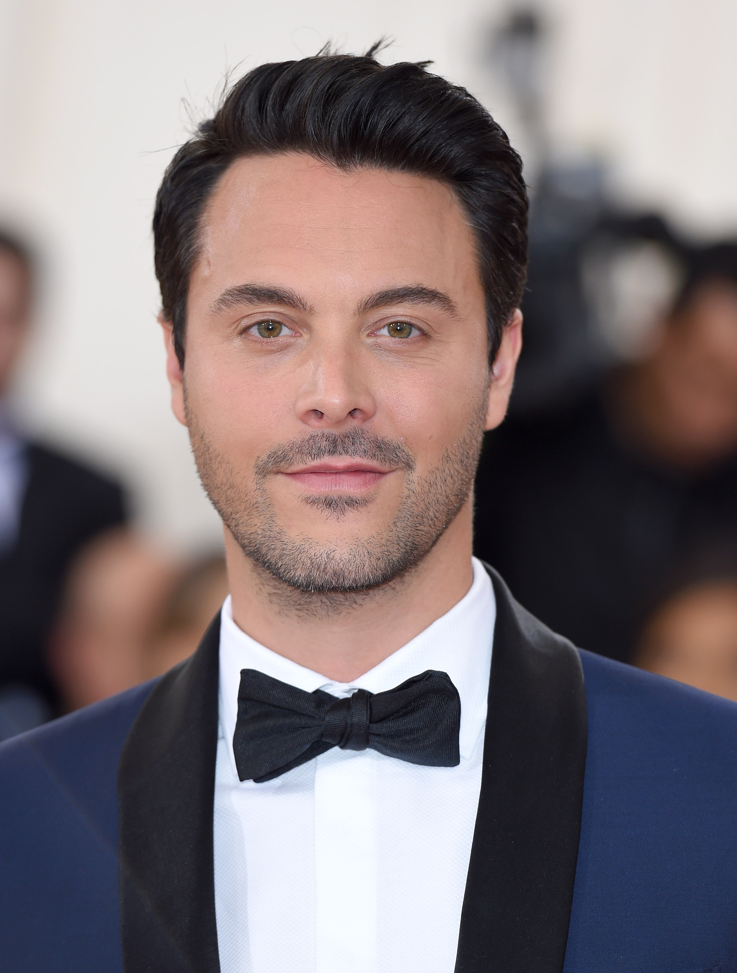 Jack Huston arrives for the Costume Institute Gala at Metropolitan Museum of Art on May 2, 2016 in New York City.