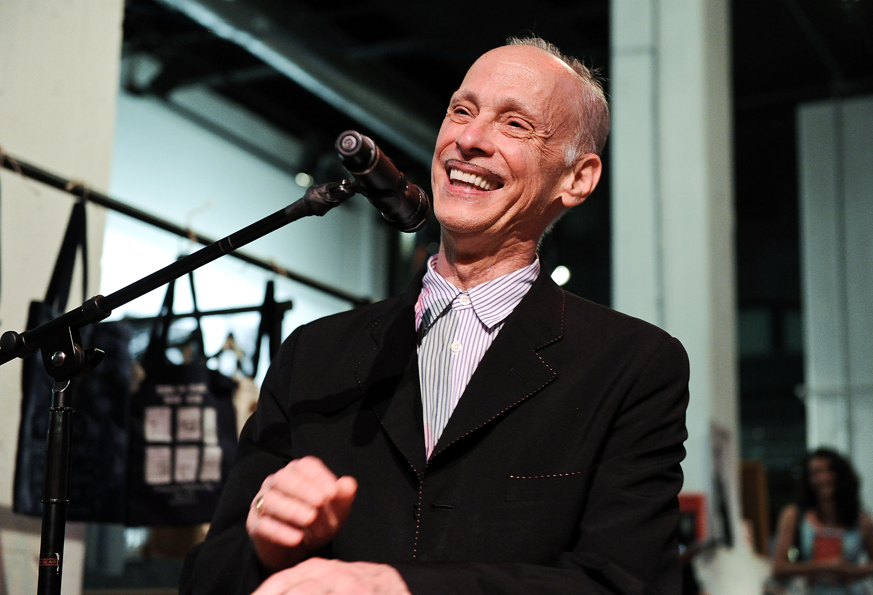 John Waters at the book launch party for his book  Carsick  in New York City on May 27, 2015.