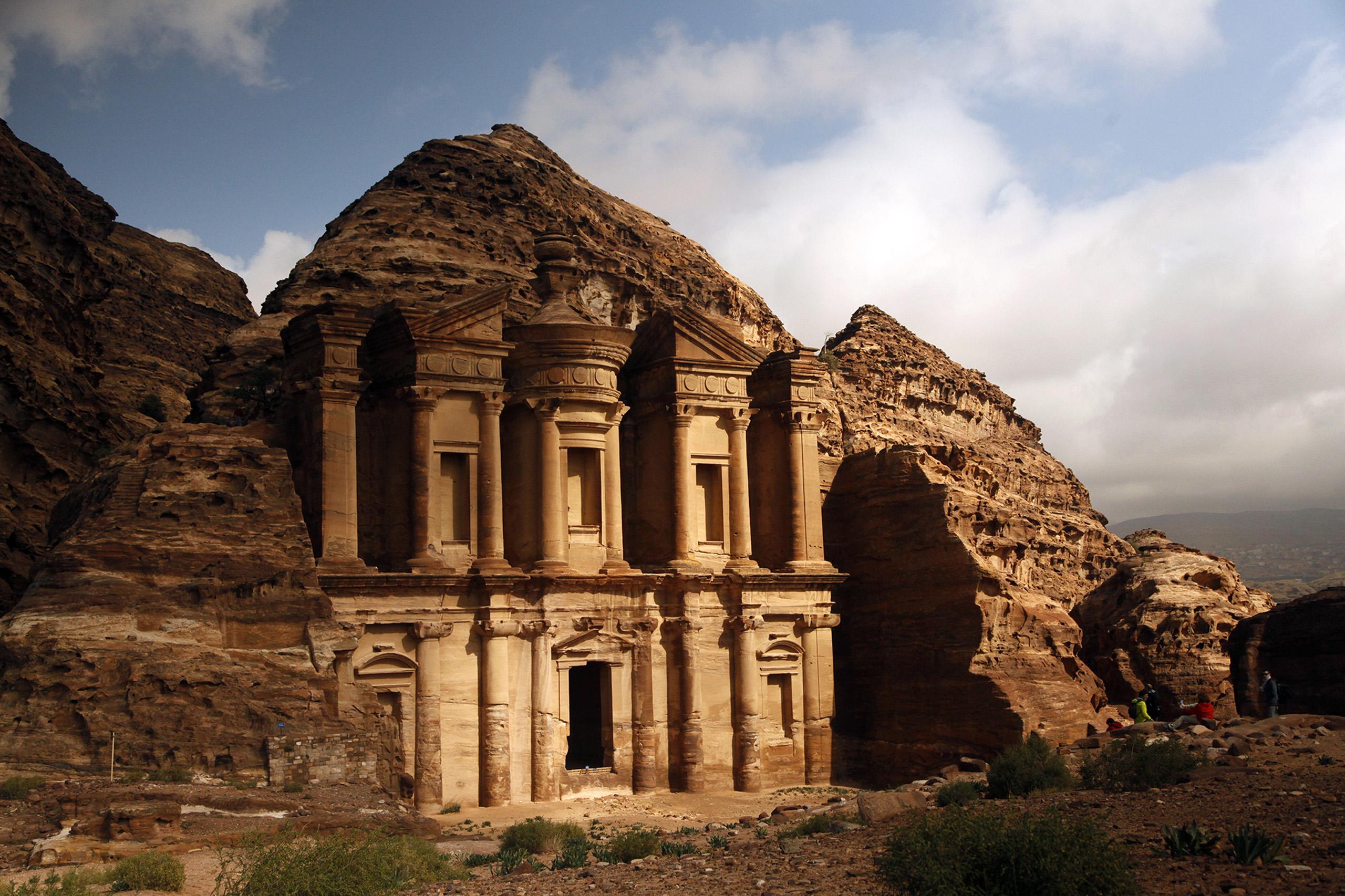 The monastery in Petra, a world famous landmark in southern Jordan, on Feb. 23, 2016.
