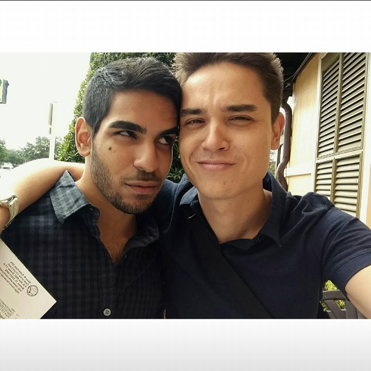 "Juan Ramon Guerrero, 22, (left) and his boyfriend, Christopher ""Drew"" Leinonen were killed in the Orlando nightclub shooting on June 12, 2016."