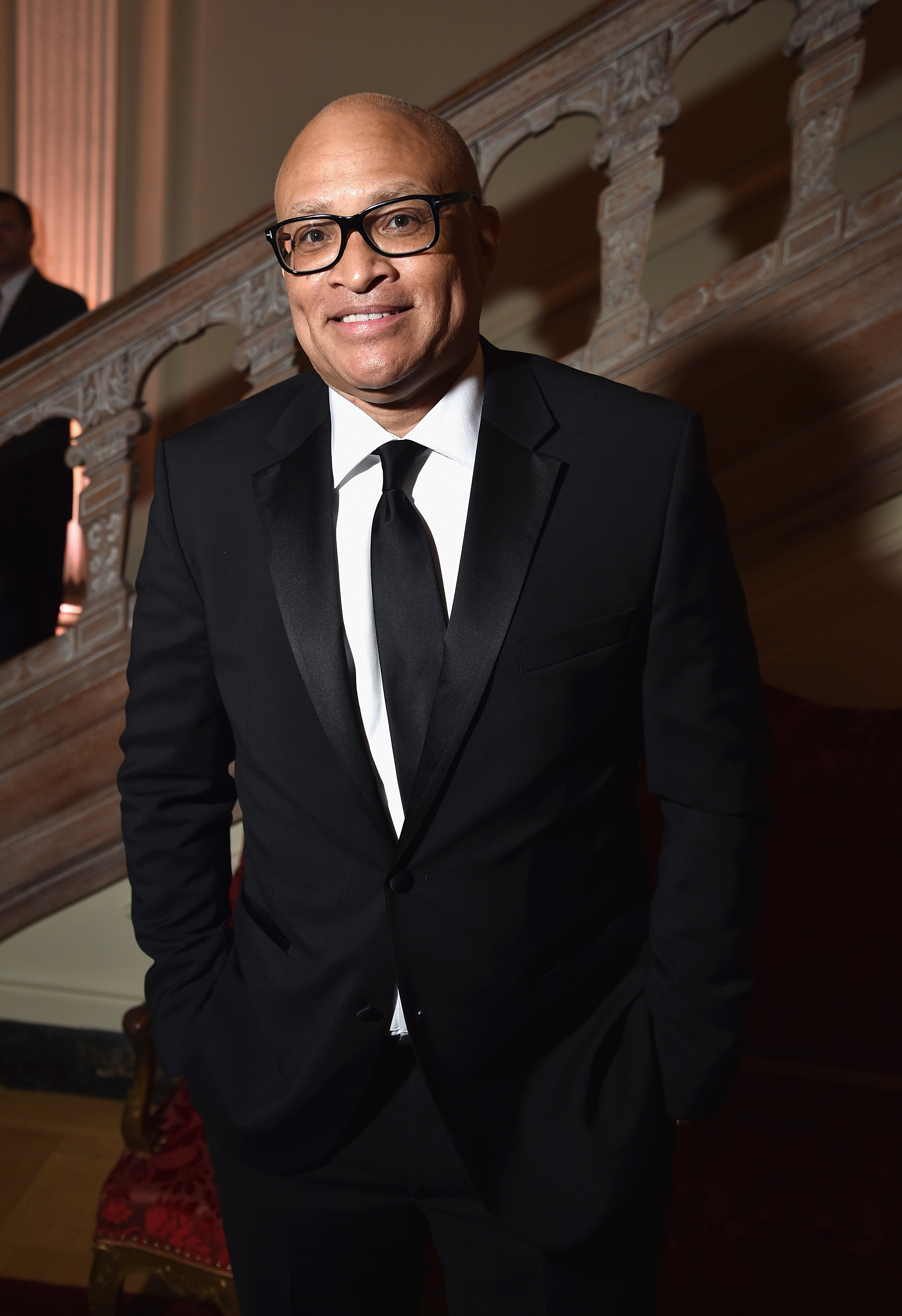 Larry Wilmore attends the Bloomberg & Vanity Fair cocktail reception following the 2015 WHCA Dinner in Washington, D.C., on April 30, 2016.