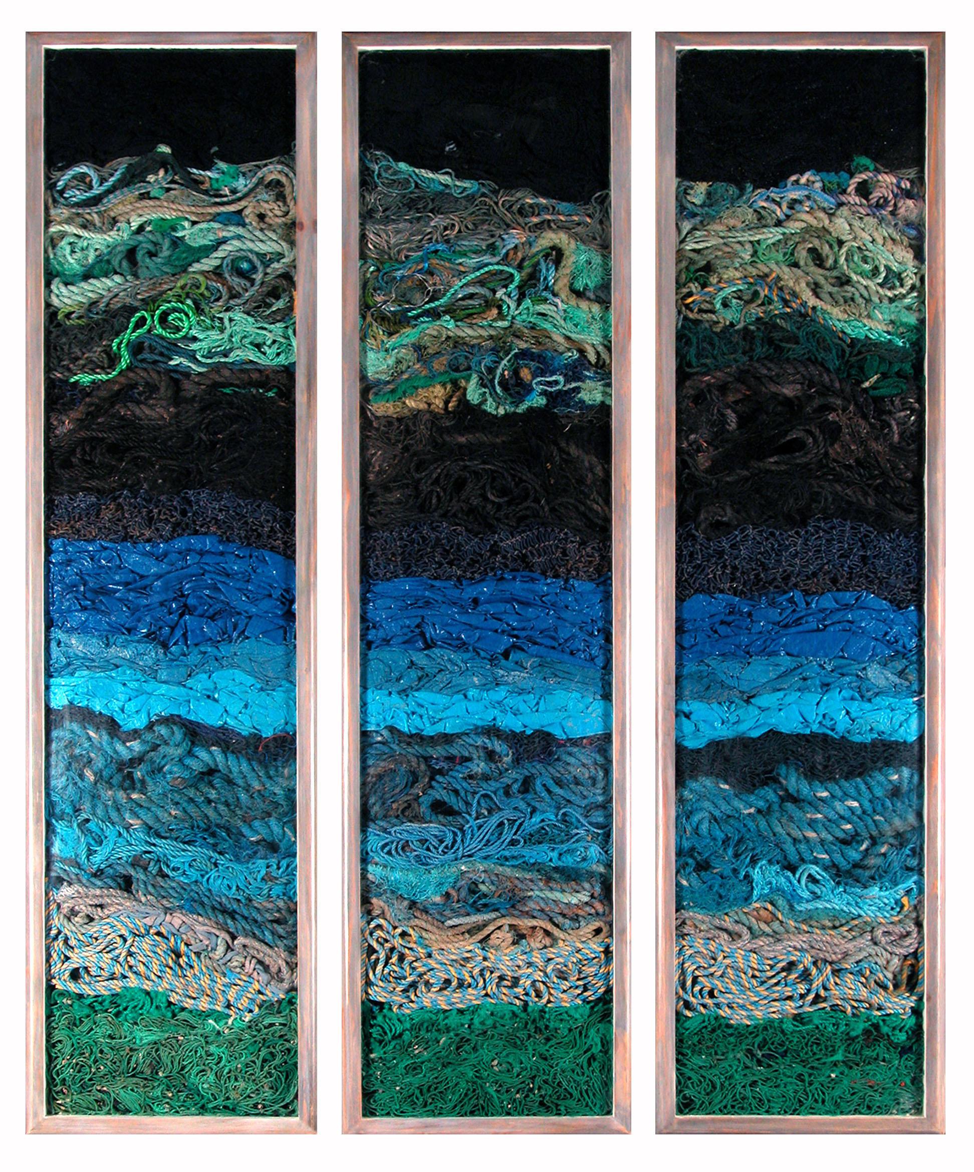John Dahlsen—Blue Rope