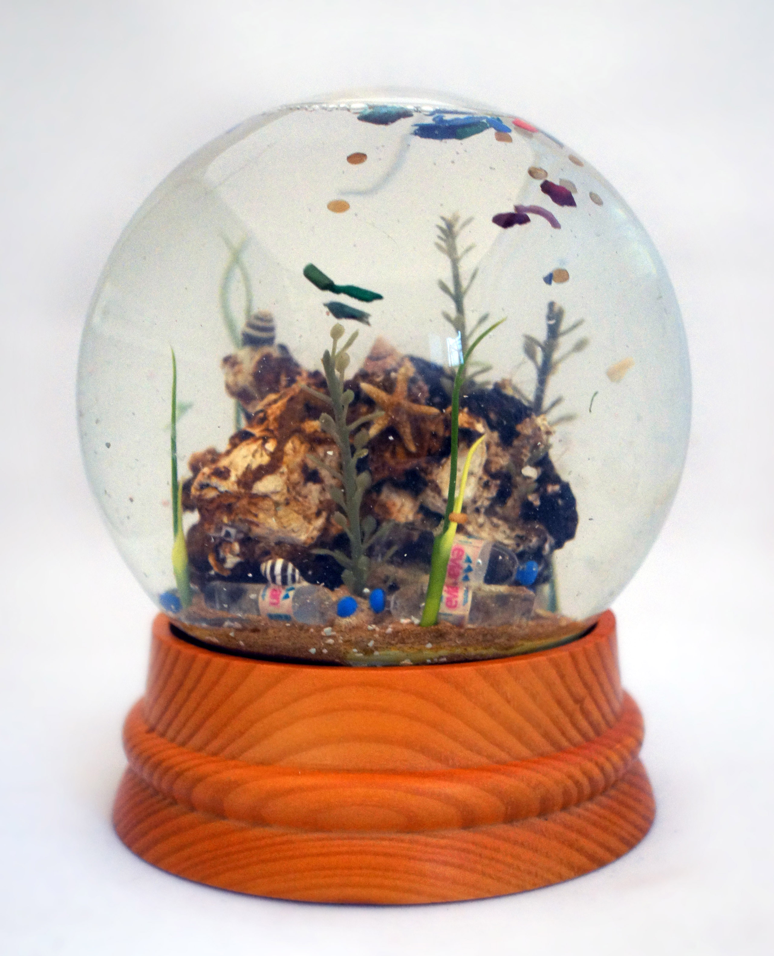 Max Liboion—Large Sea Globe, 2013-2014.