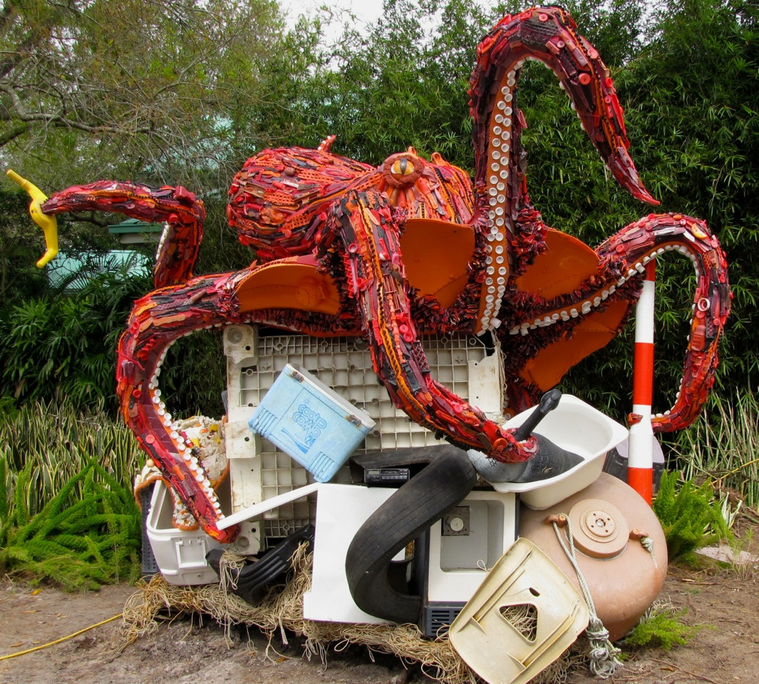 Angela Haseltine Pozzi, Washed Ashore—Octopus
