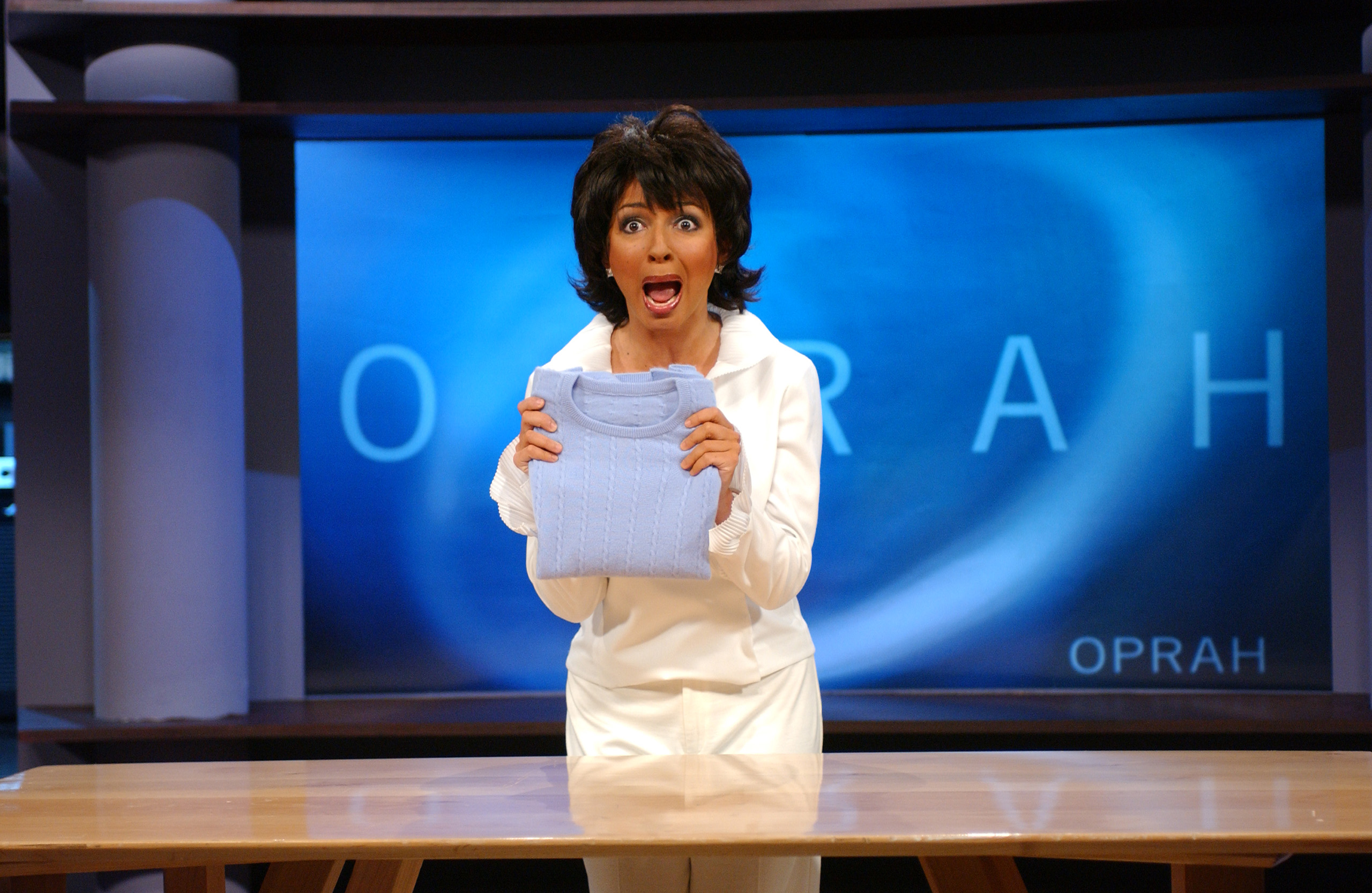 Maya Rudolph as Oprah Winfrey during the  Oprah  skit on Saturday Night Live on February 7, 2004.