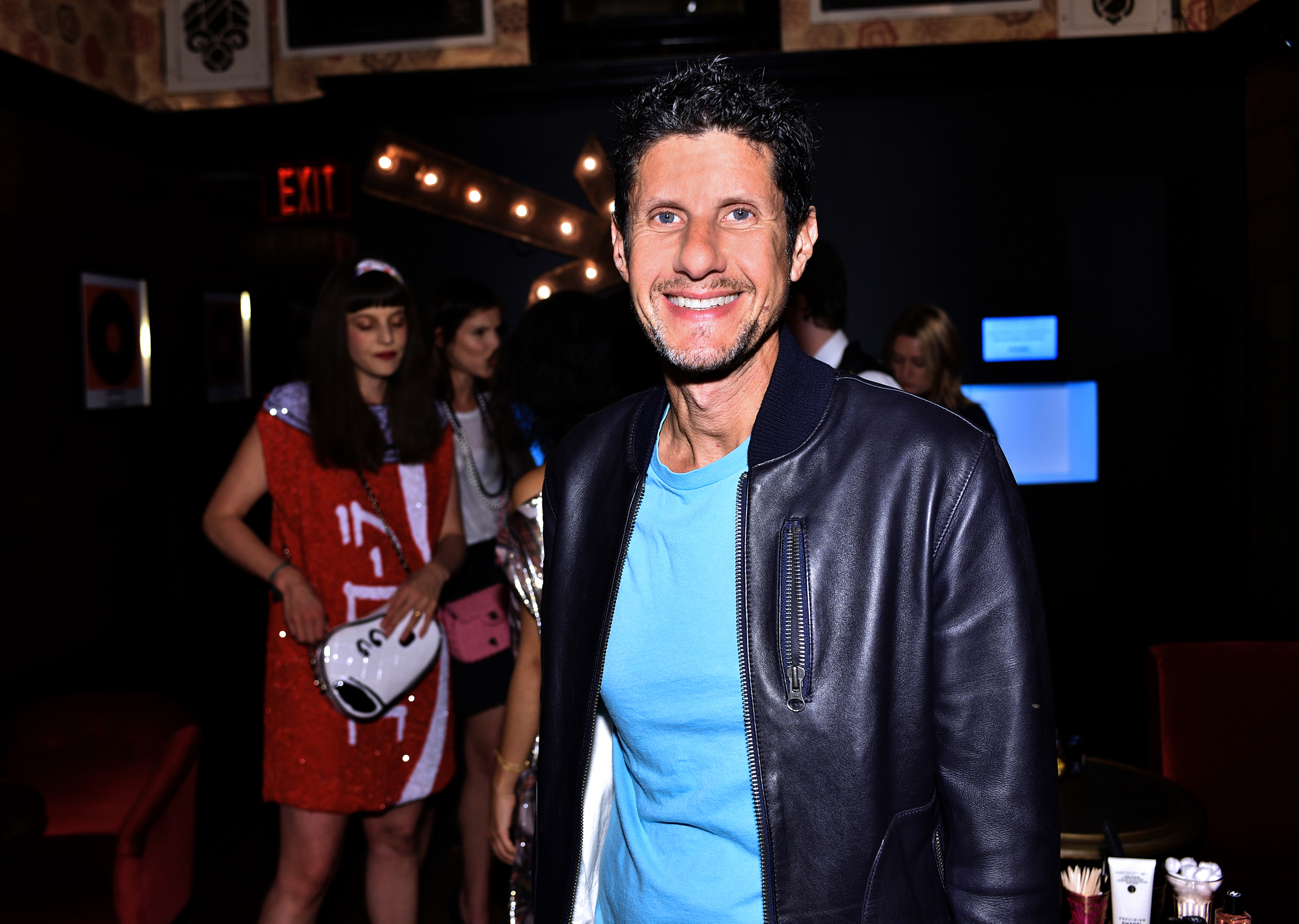 HOLLYWOOD, CA - FEBRUARY 25: Rapper Mike D attends the I Love Coco Backstage Beauty Lounge at Chateau Marmont's Bar Marmont on February 25, 2016 in Hollywood, California.  (Photo by Stefanie Keenan/WireImage)