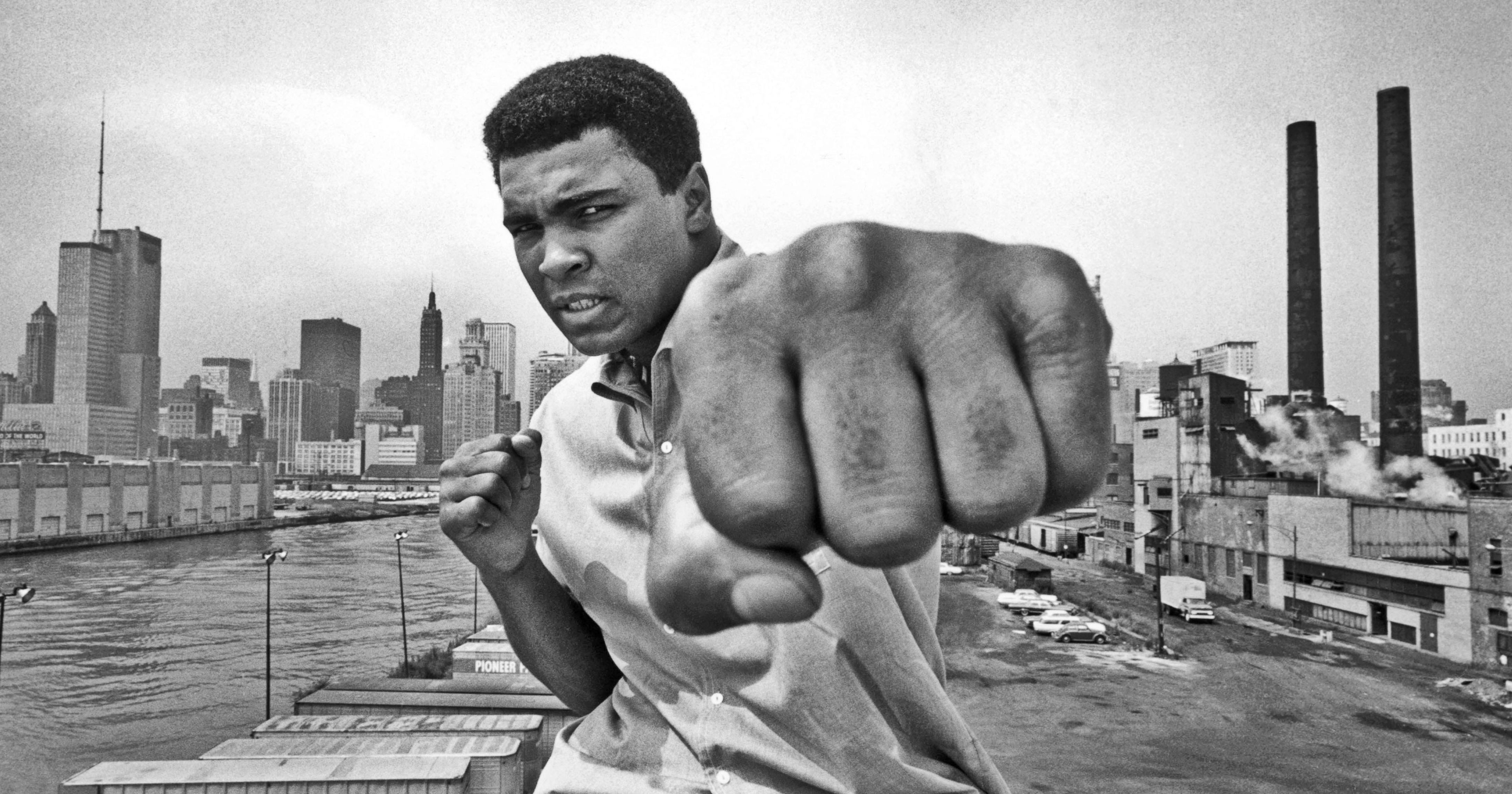 Muhammad Ali in Chicago in 1966.